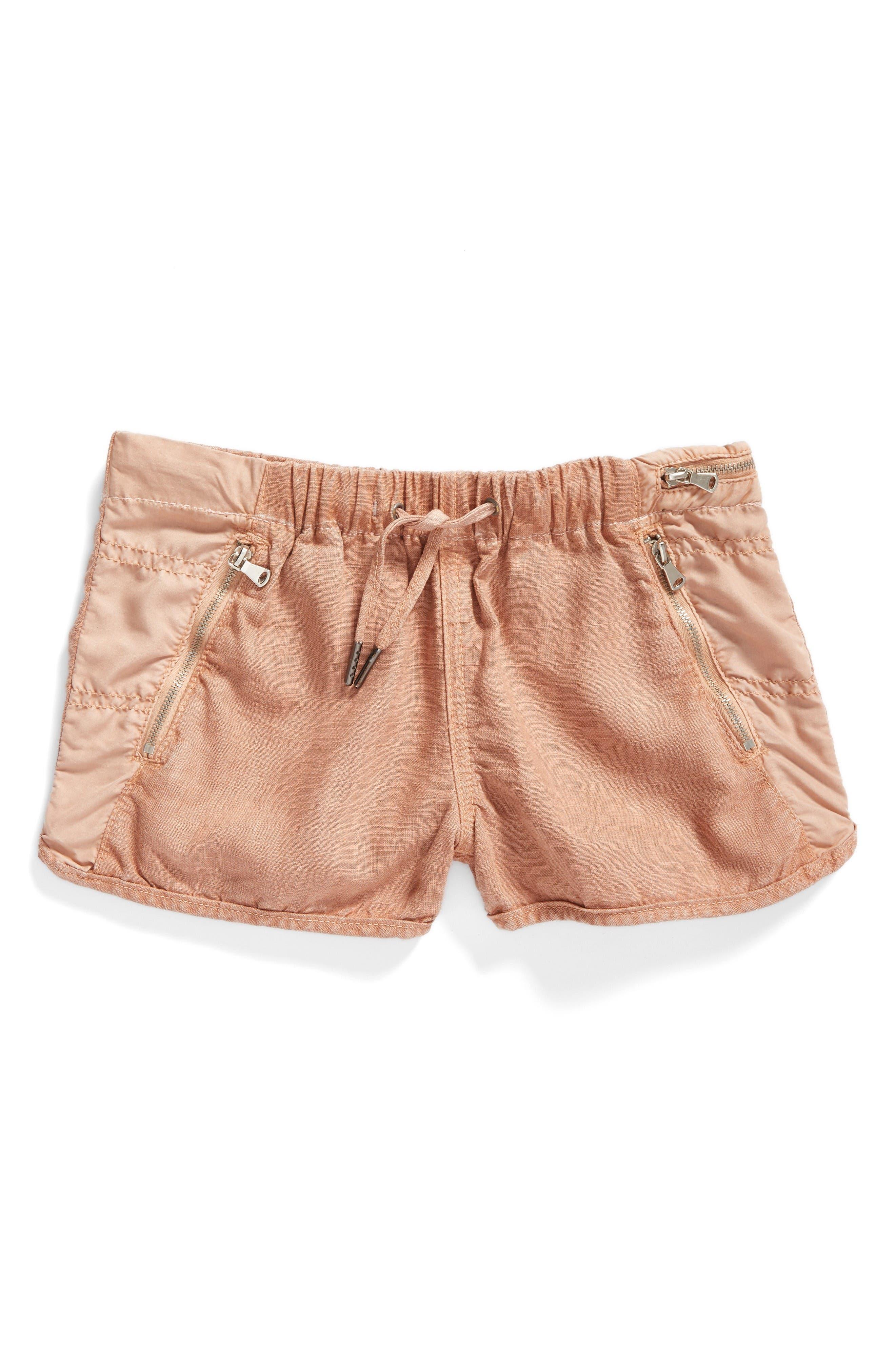 BLANKNYC Mixed Media Shorts (Big Girls)