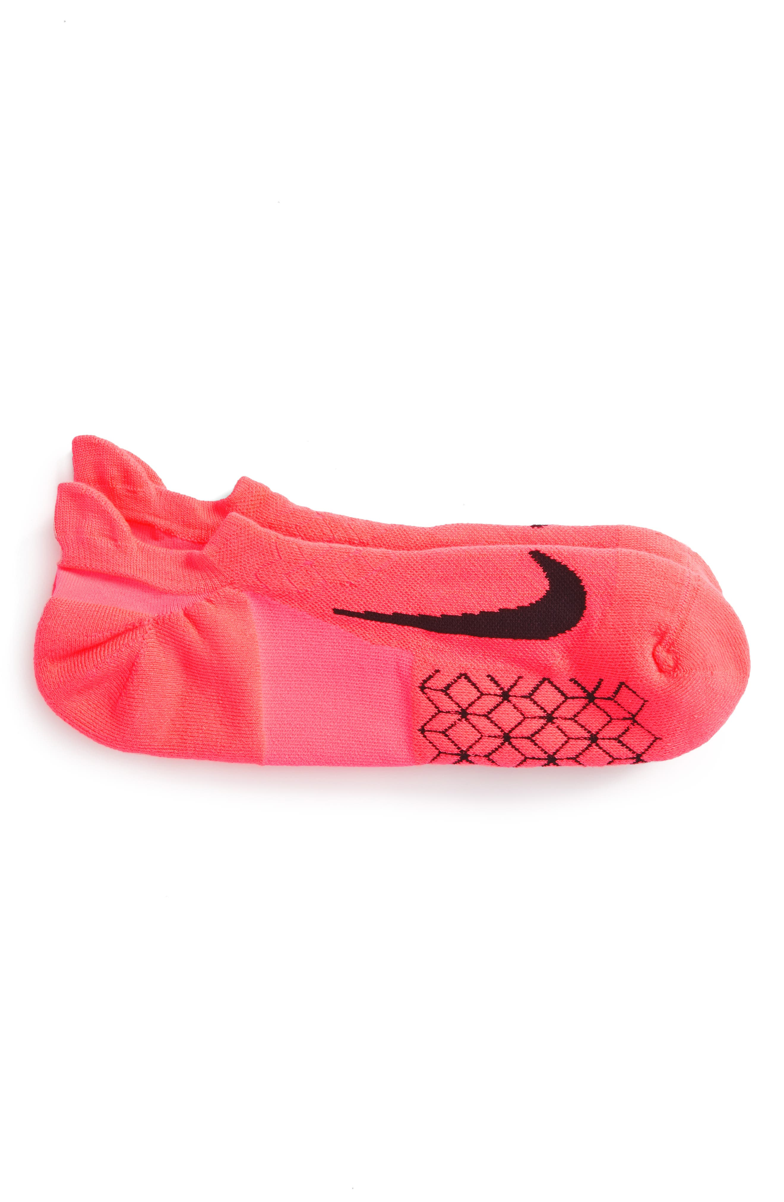 NIKE Elite Cushioned No-Show Tab Running Socks