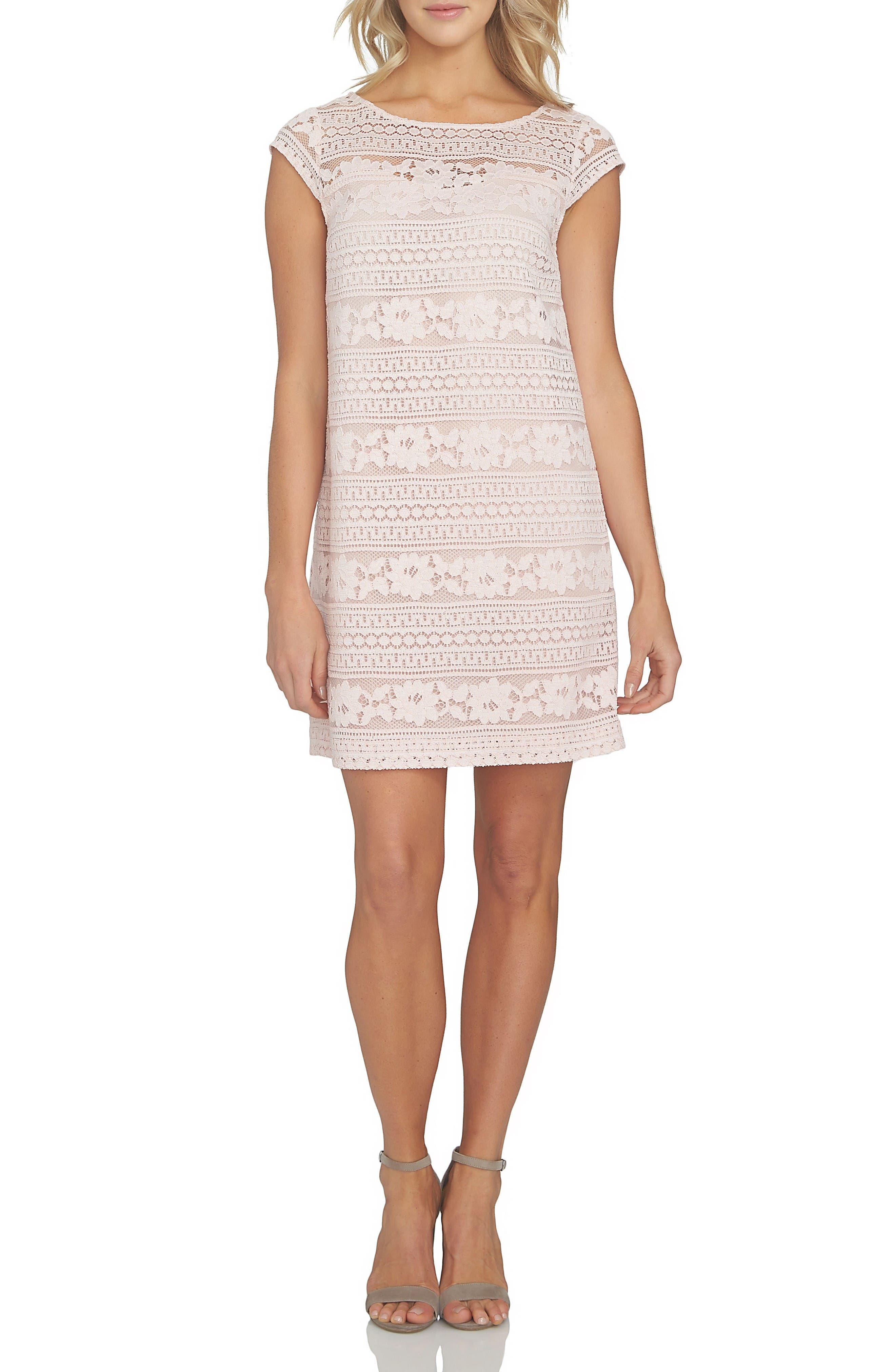 Alternate Image 3  - Cece Quinn Lace Shift Dress