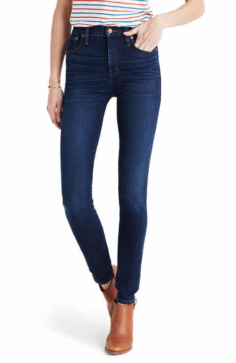 Dark Blue Wash Jeans & Denim for Women: Skinny, Boyfriend & More ...