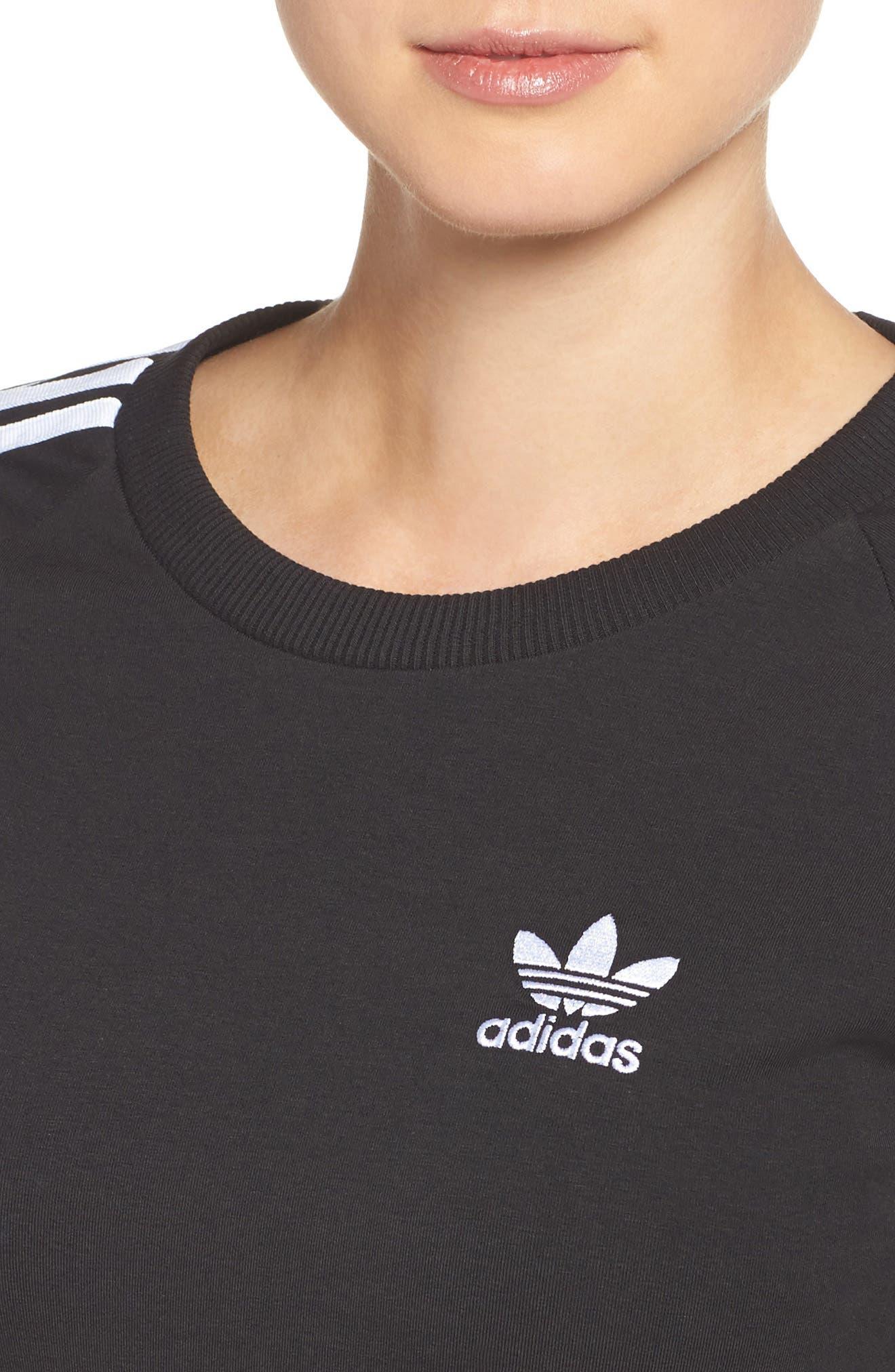 Alternate Image 4  - adidas Originals 3-Stripes Dress