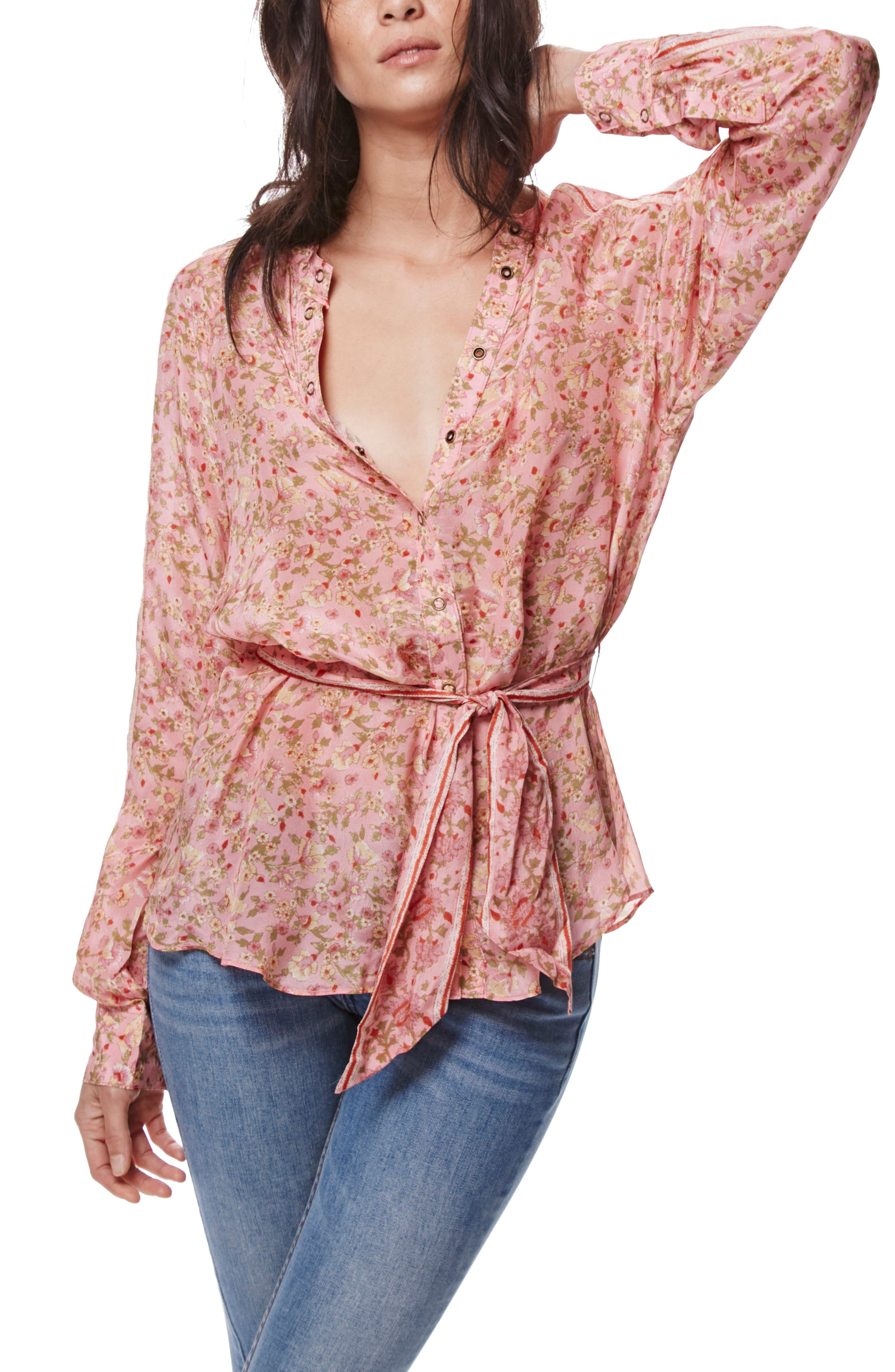 FREE PEOPLE Skyway Blouse