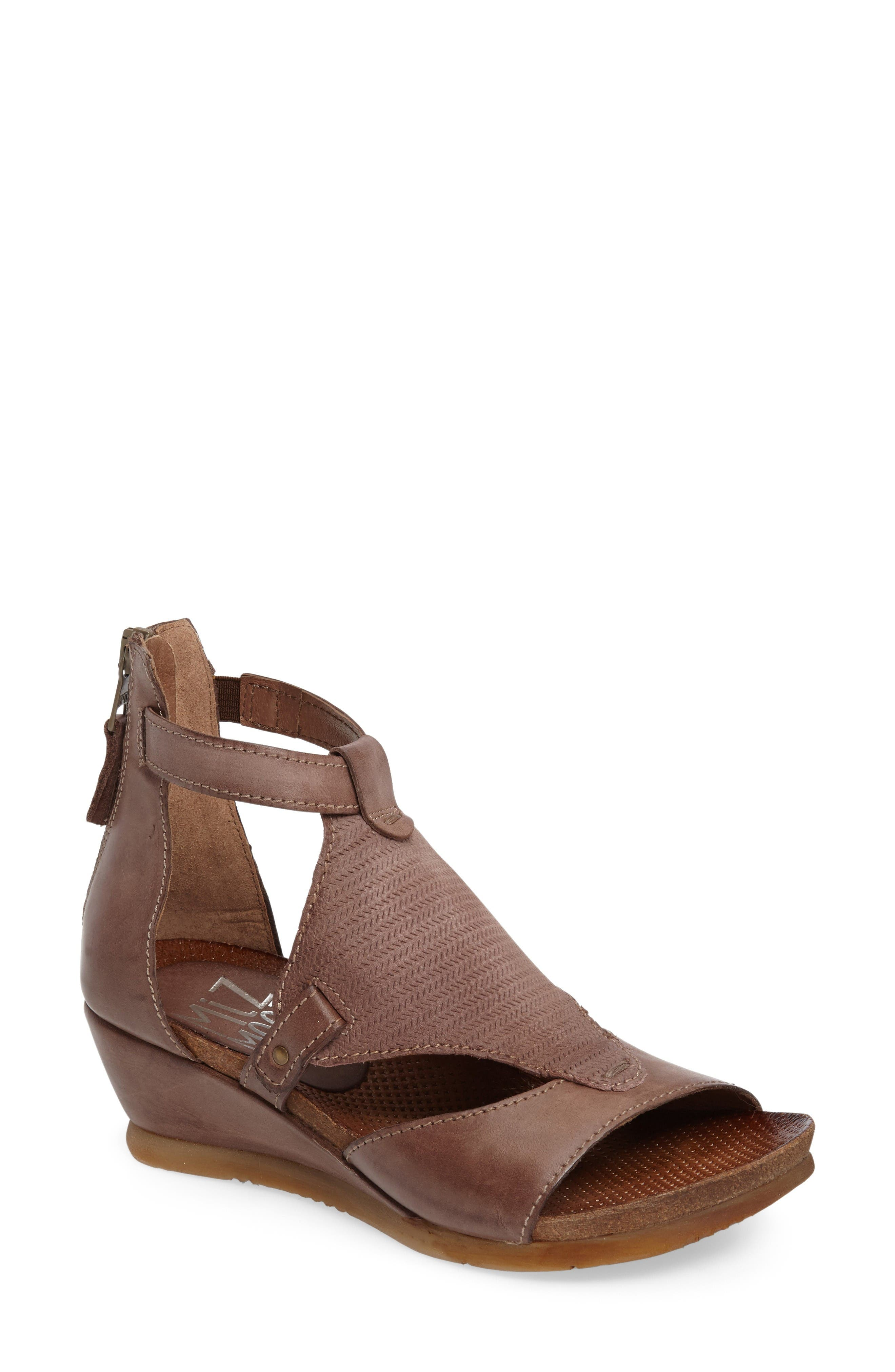 Miz Mooz Maisie Wedge Sandal (Women)