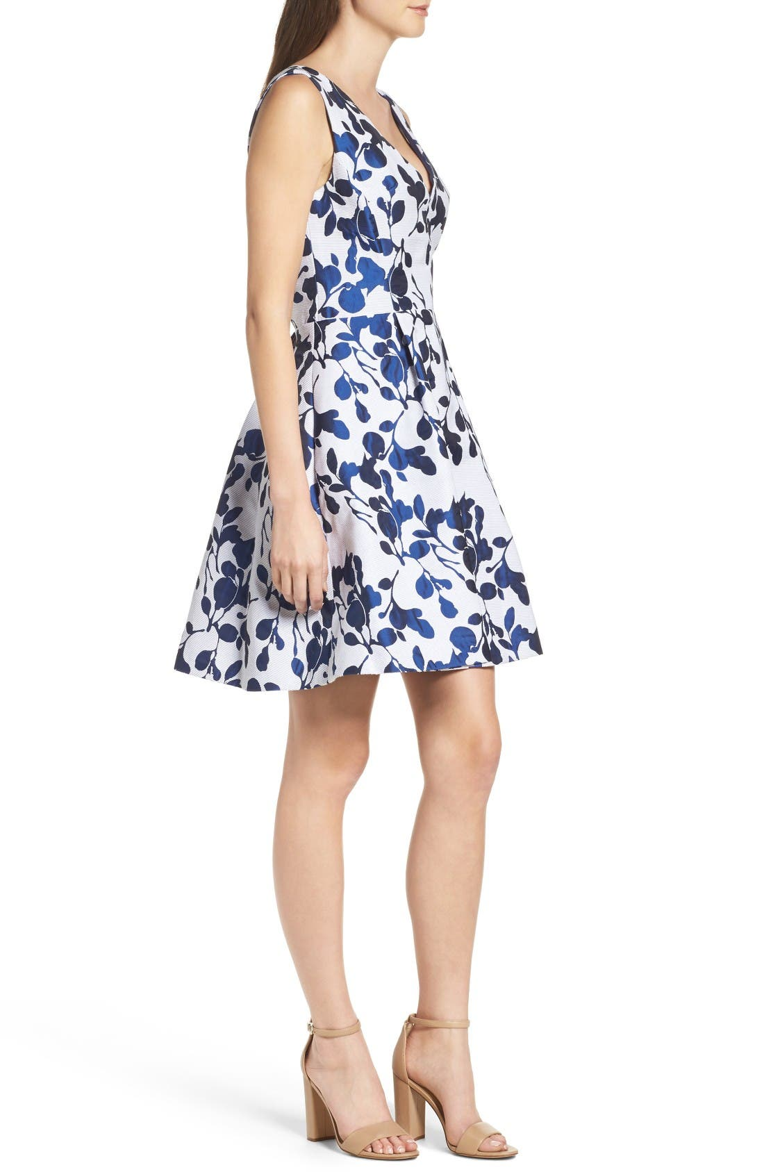 Alternate Image 3  - Betsey Johnson Fit & Flare Dress