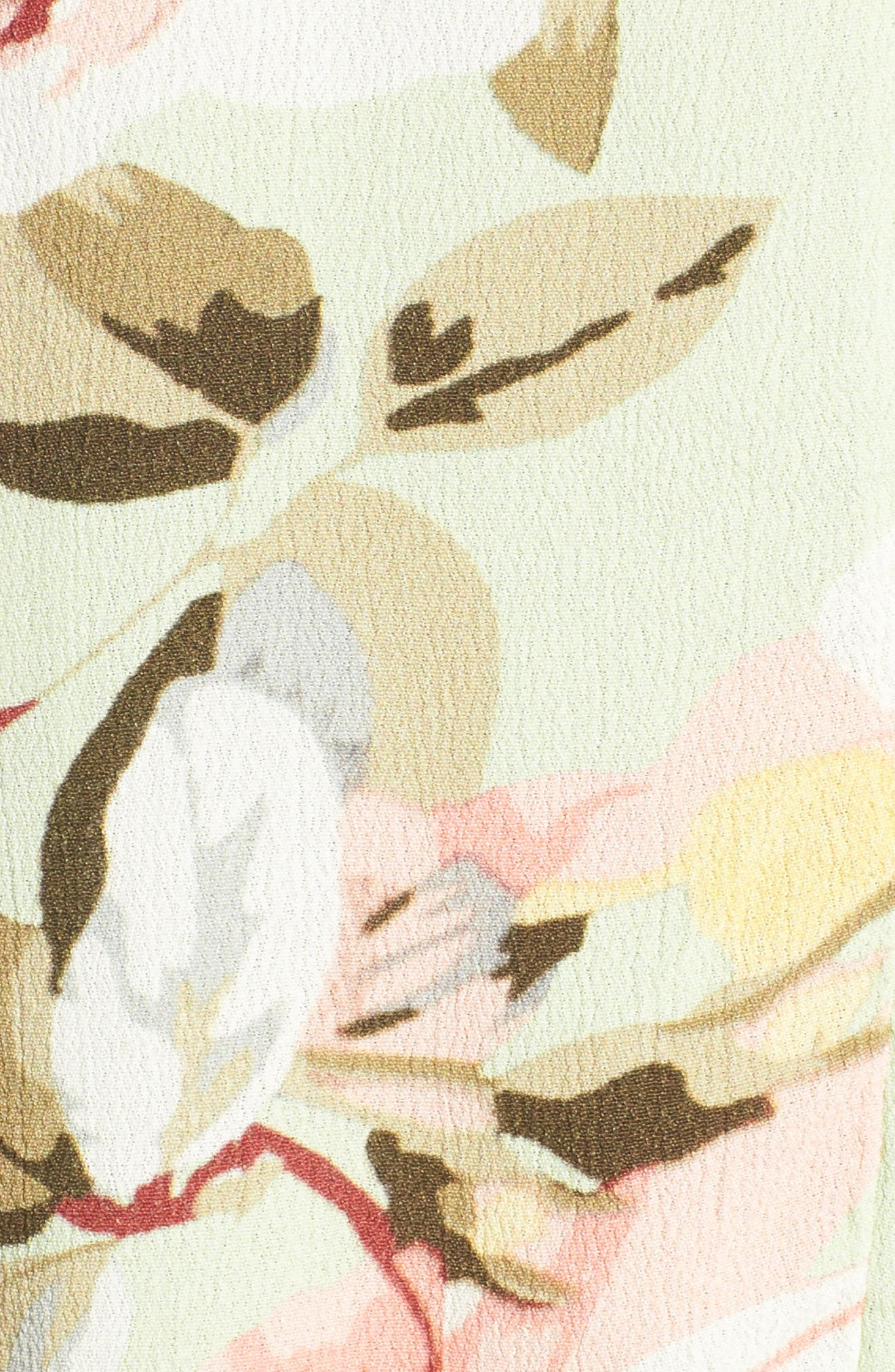 Alternate Image 5  - Lucca Floral Print Romper