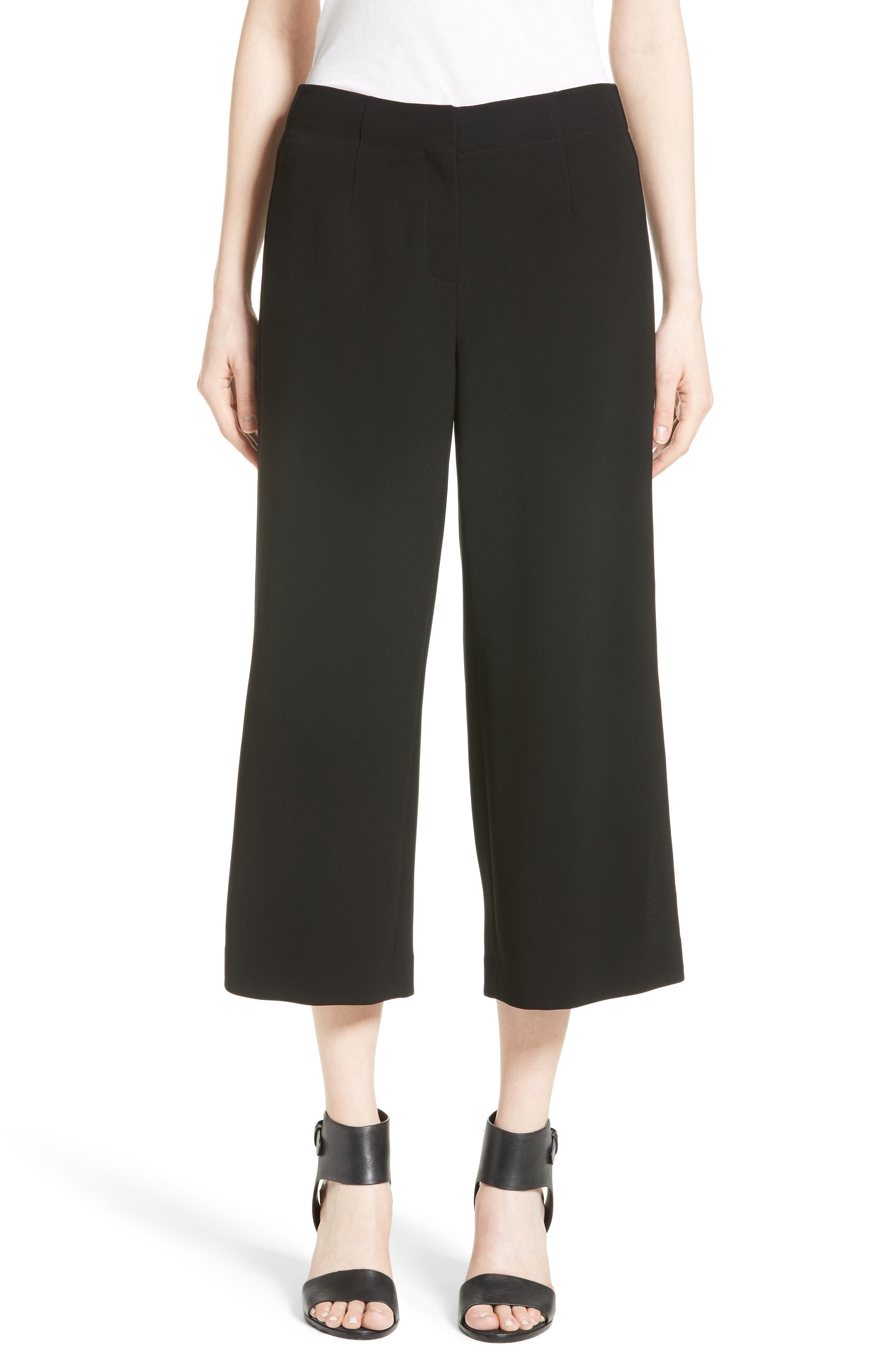 LAFAYETTE 148 NEW YORK Charlton Crop Wide Leg
