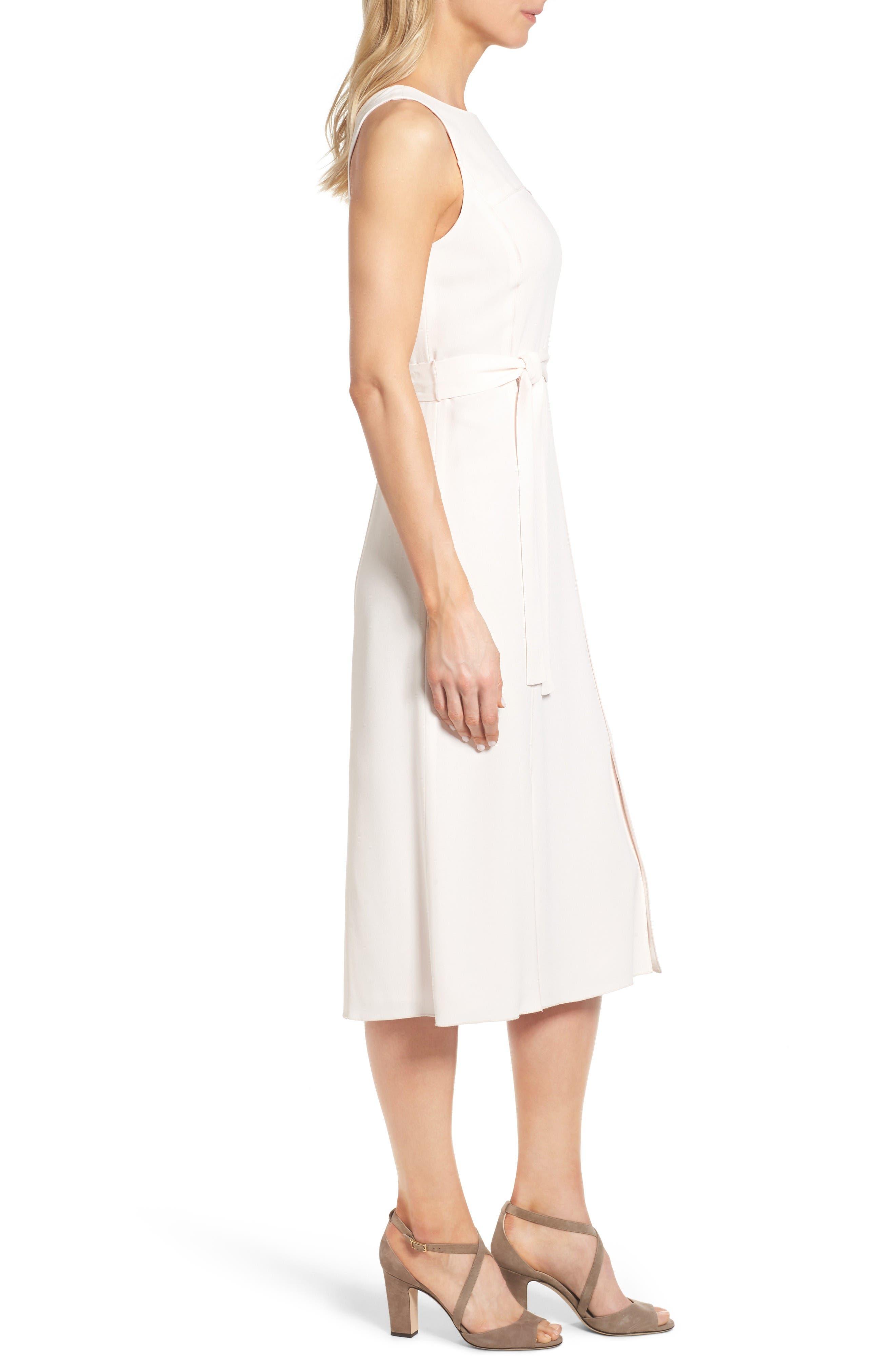 Alternate Image 3  - Classiques Entier® Italian Crepe Midi Dress