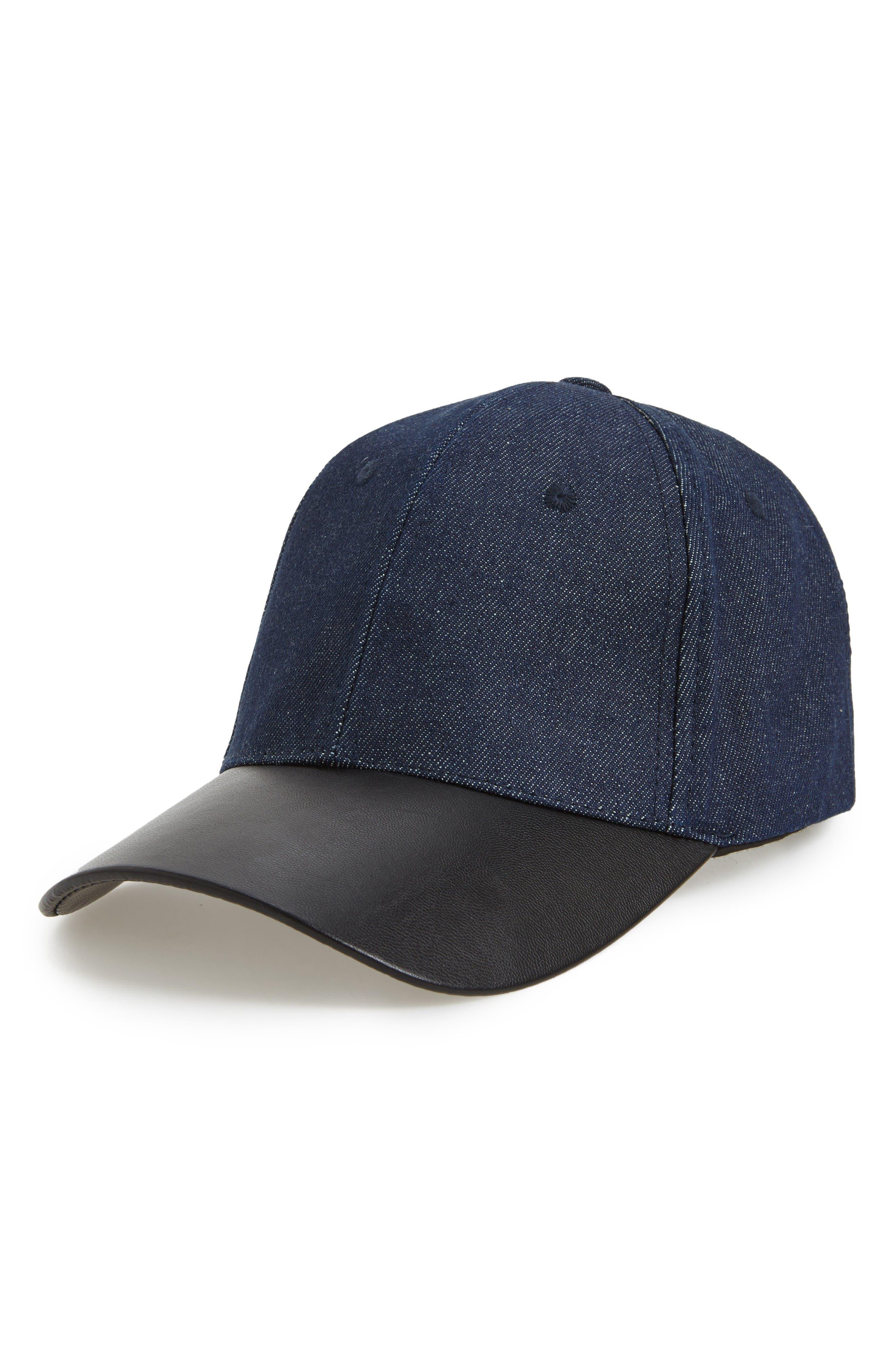 Main Image - Phase 3 Denim Baseball Cap