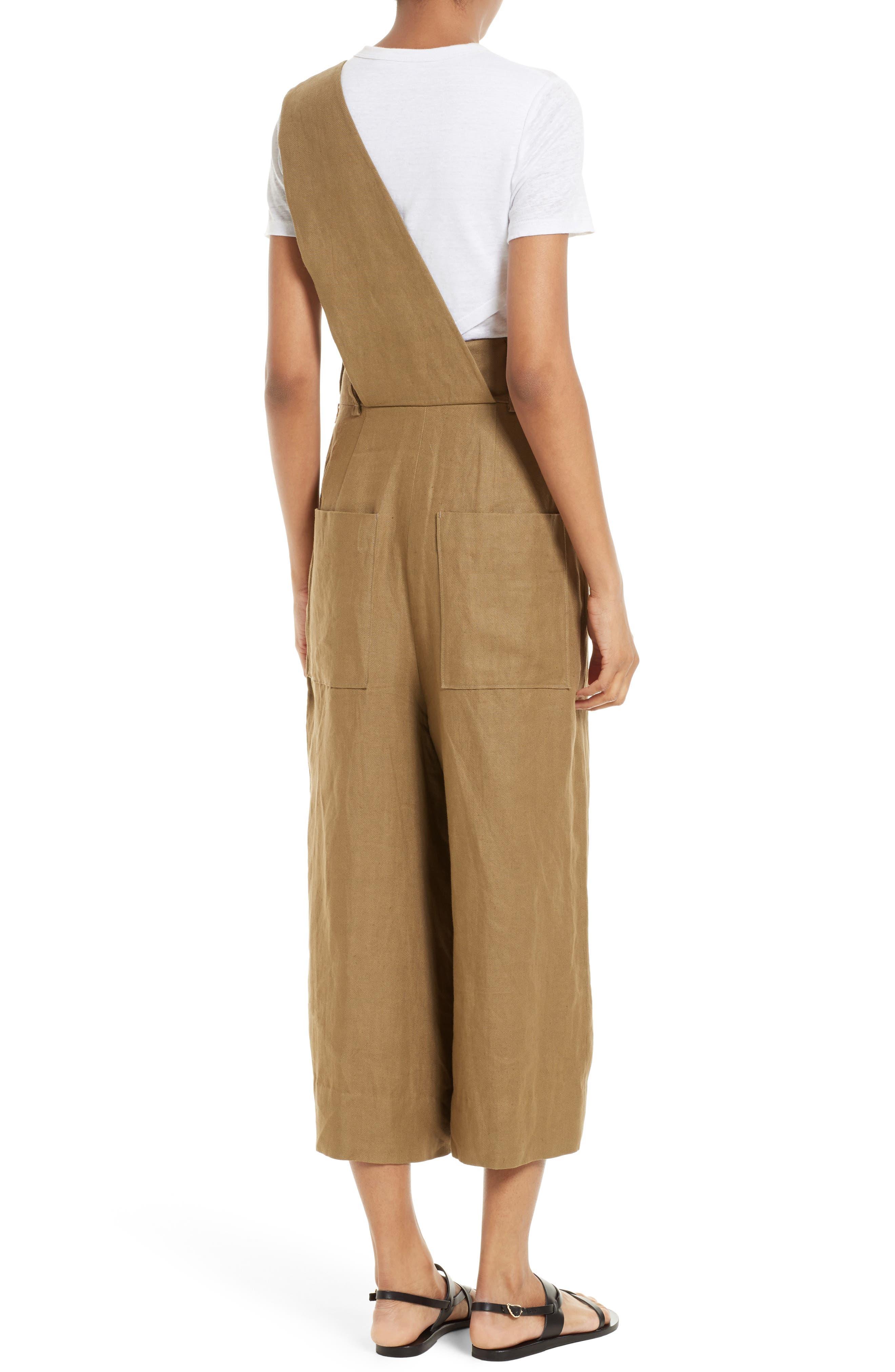Alternate Image 2  - Tibi Hessian Linen Jumpsuit