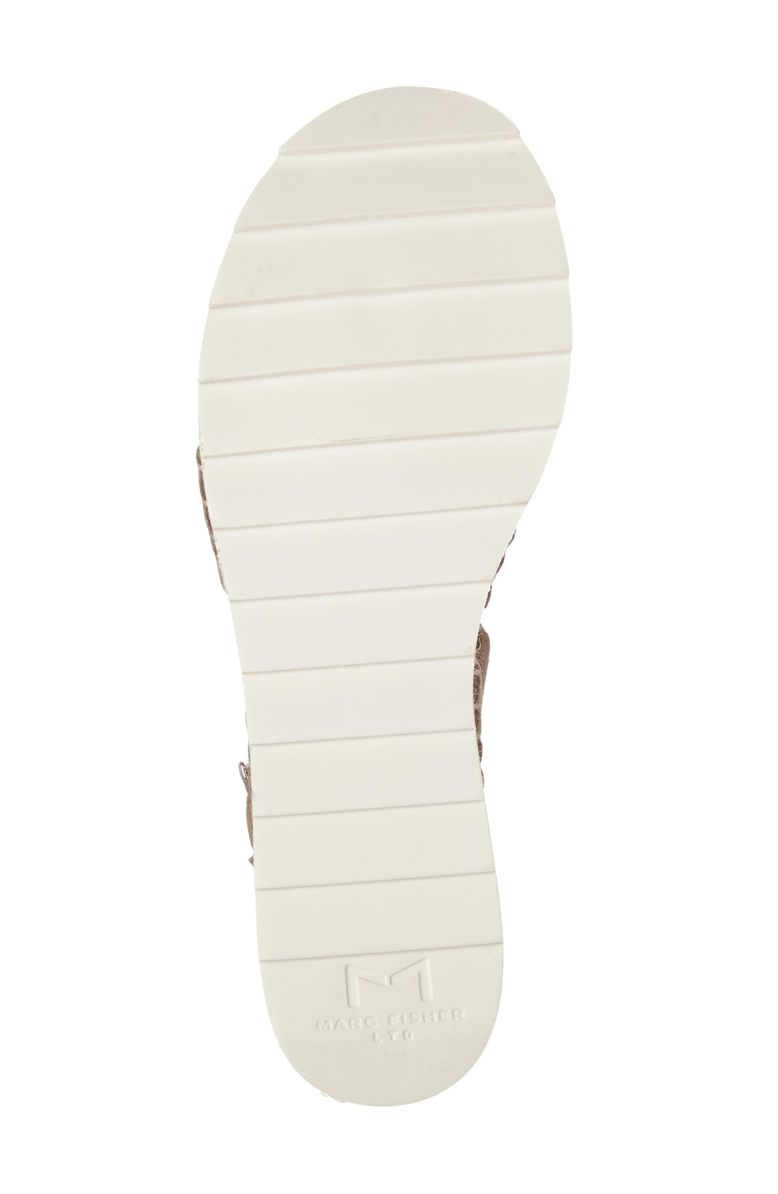 Alternate Image 4  - Marc Fisher LTD Greg Platform Wedge Sandal (Women)