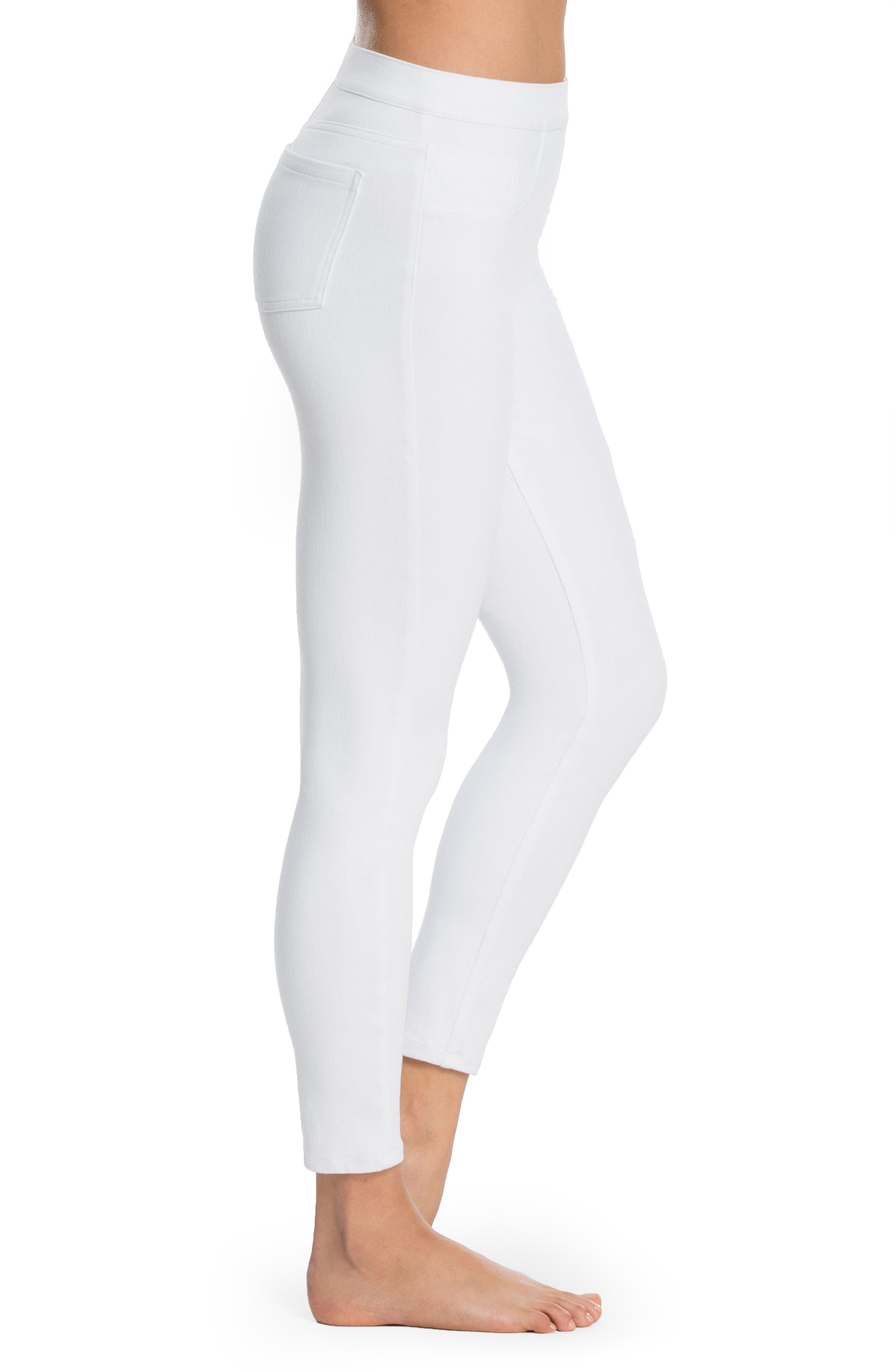 Alternate Image 3  - SPANX® Denim Crop Leggings