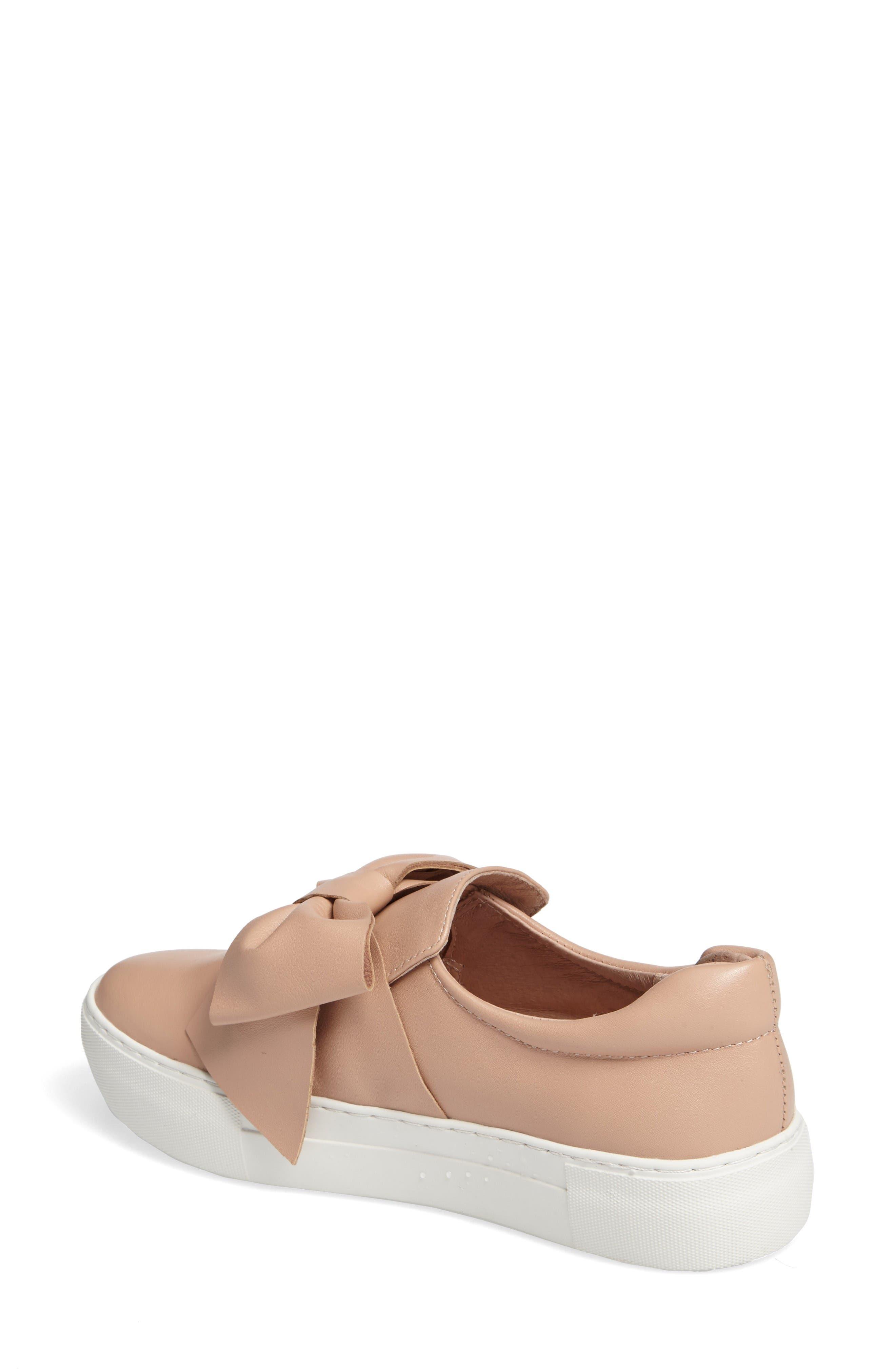 Alternate Image 2  - JSlides Beauty Bow Platform Slip-On Sneaker (Women)