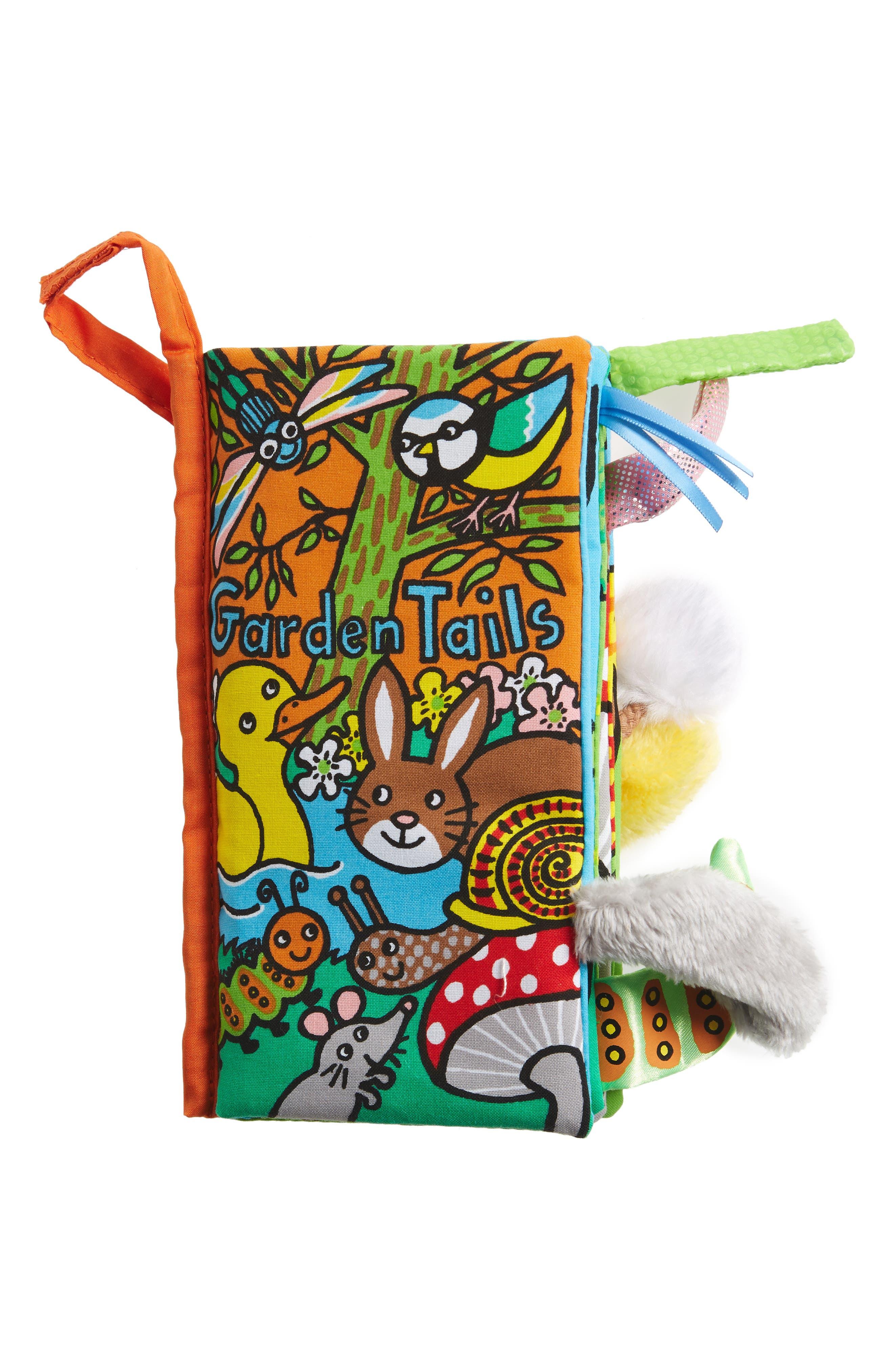 JELLYCAT Garden Tails Fabric Book