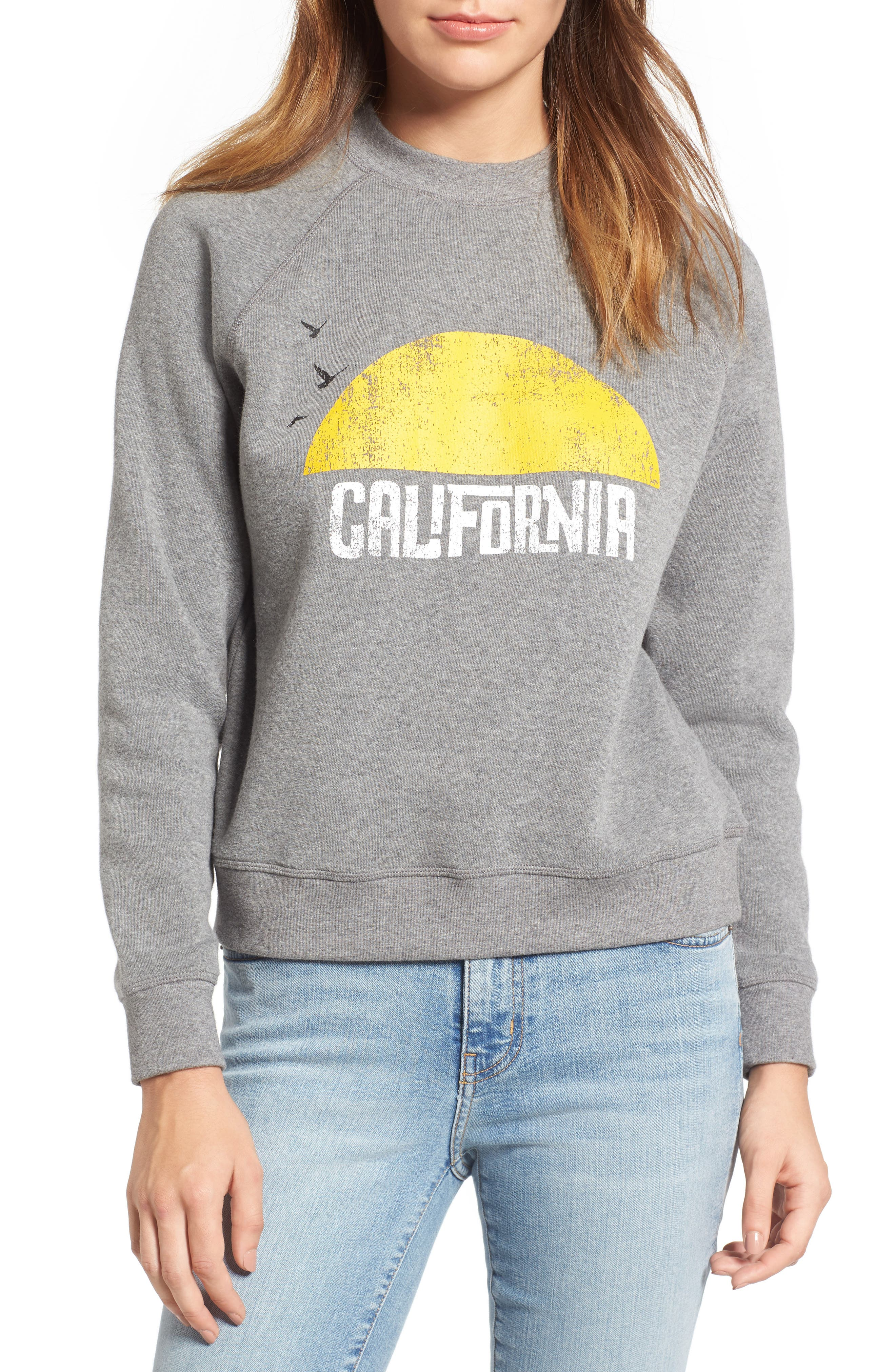 Alternate Image 1 Selected - Rebecca Minkoff California Sunset Sweatshirt