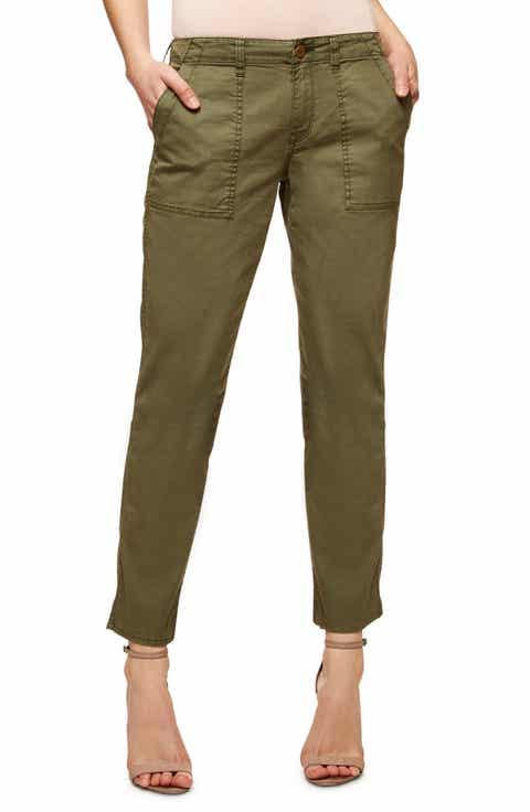 Sanctuary Sergent Crop Straight Leg Pants (Regular   Petite)