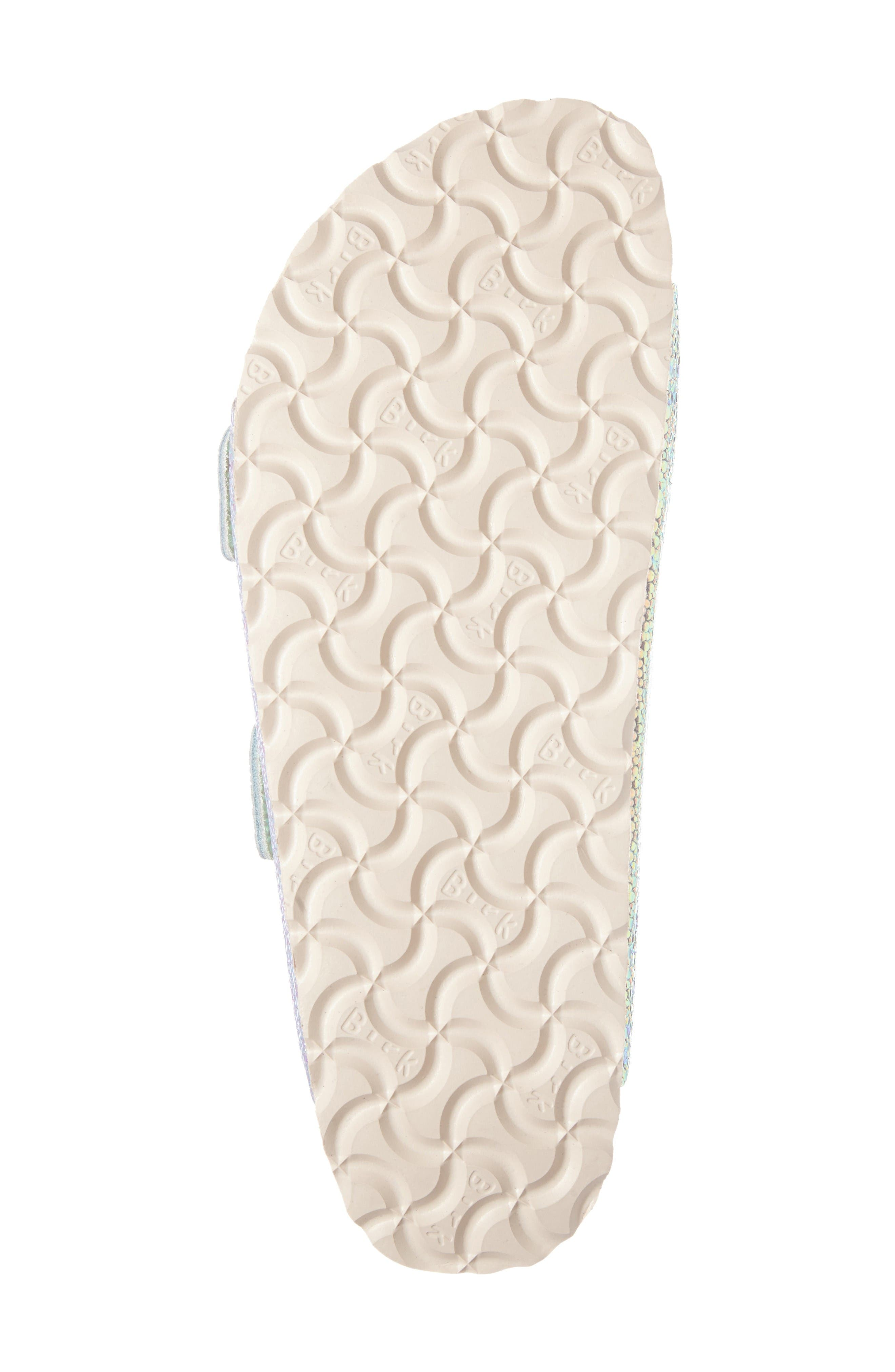Alternate Image 6  - Birkenstock Arizona Lux Iridescent Slide Sandal (Women)