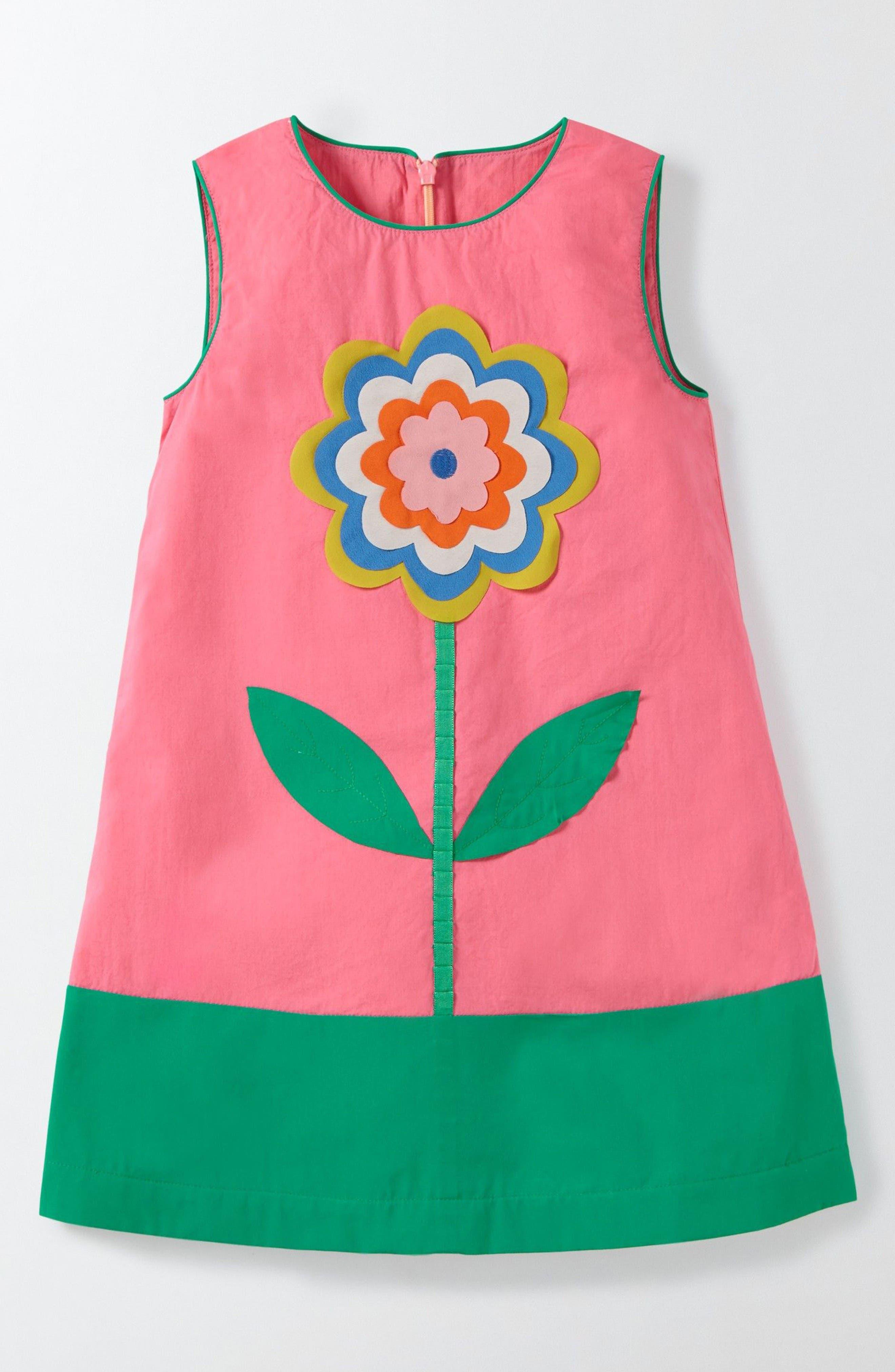 Alternate Image 1 Selected - Mini Boden Fun Shift Dress (Toddler Girls, Little Girls & Big Girls)