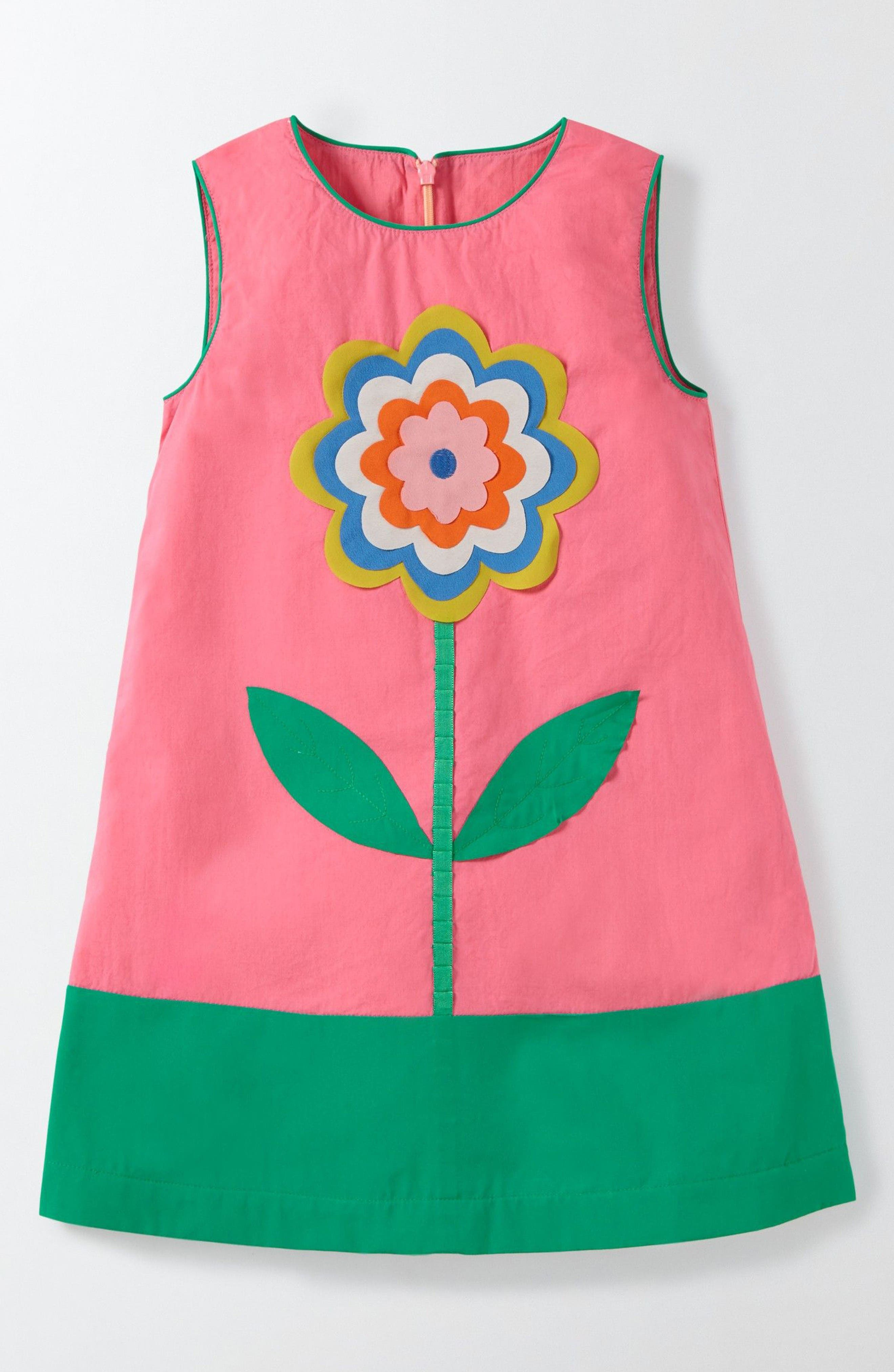 Main Image - Mini Boden Fun Shift Dress (Toddler Girls, Little Girls & Big Girls)