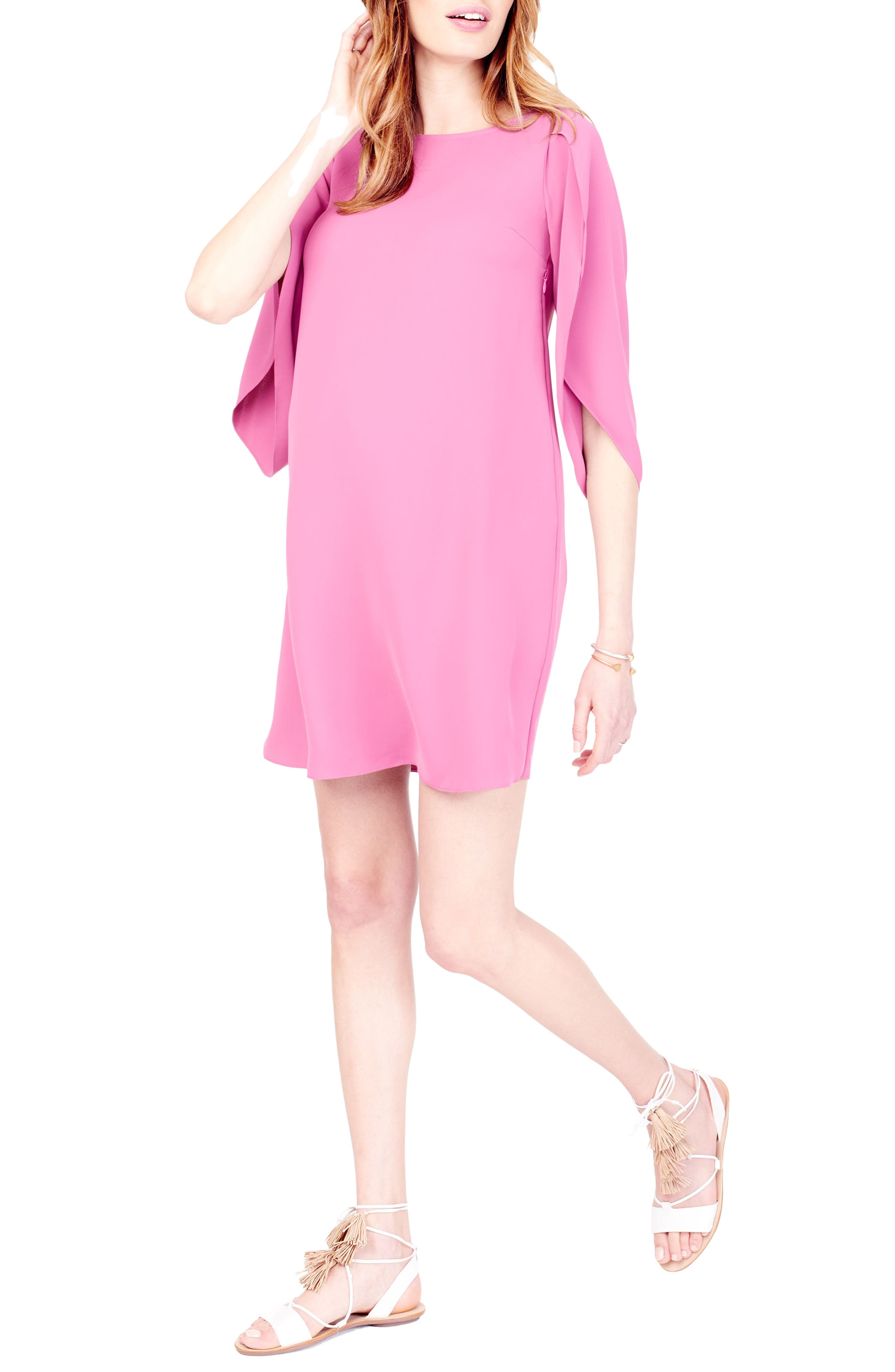 Alternate Image 4  - Ingrid & Isabel® Maternity Shift Dress