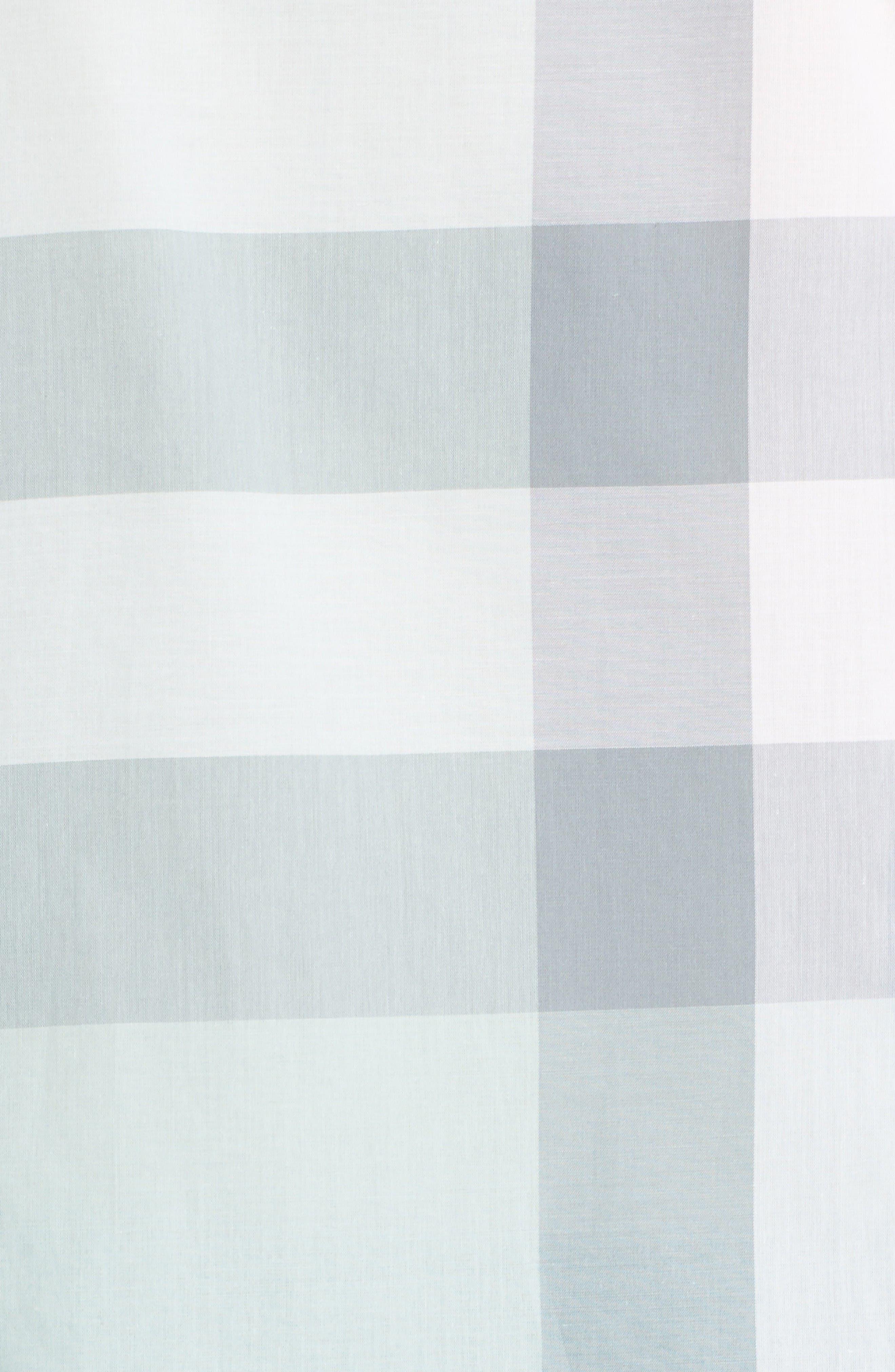 Alternate Image 3  - Burberry Check Print Cotton Shirt