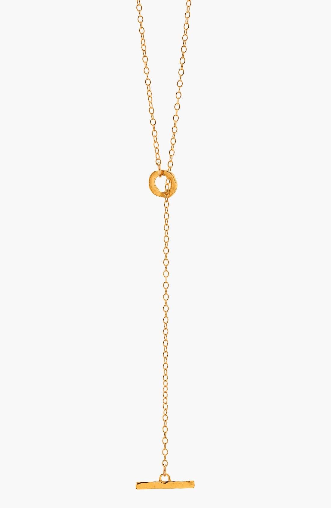 Alternate Image 3  - gorjana 'Taner' Toggle Lariat Necklace