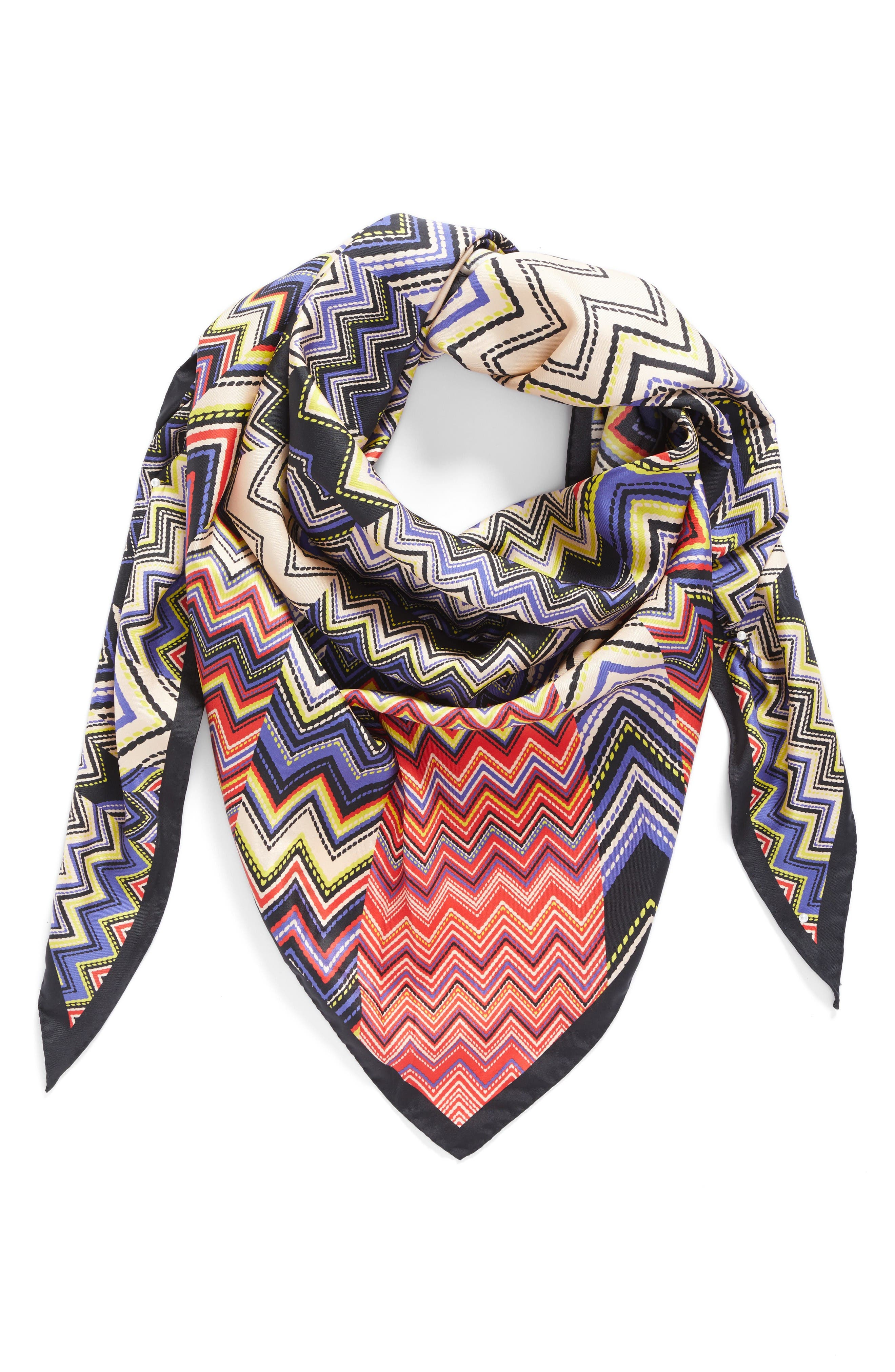 Missoni Silk Triangle Scarf