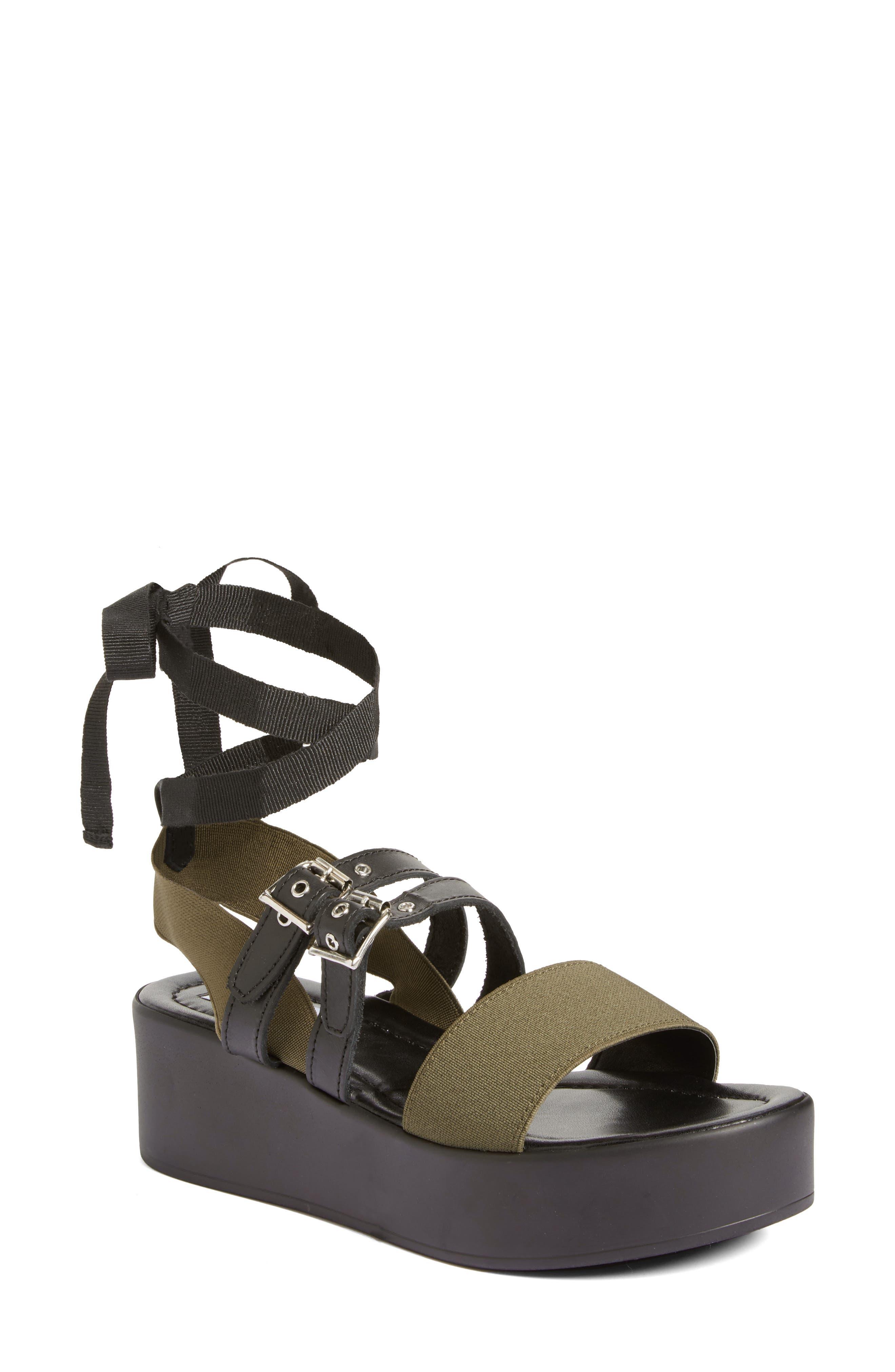 Steve Madden Mayzie Platform Sandal (Women)