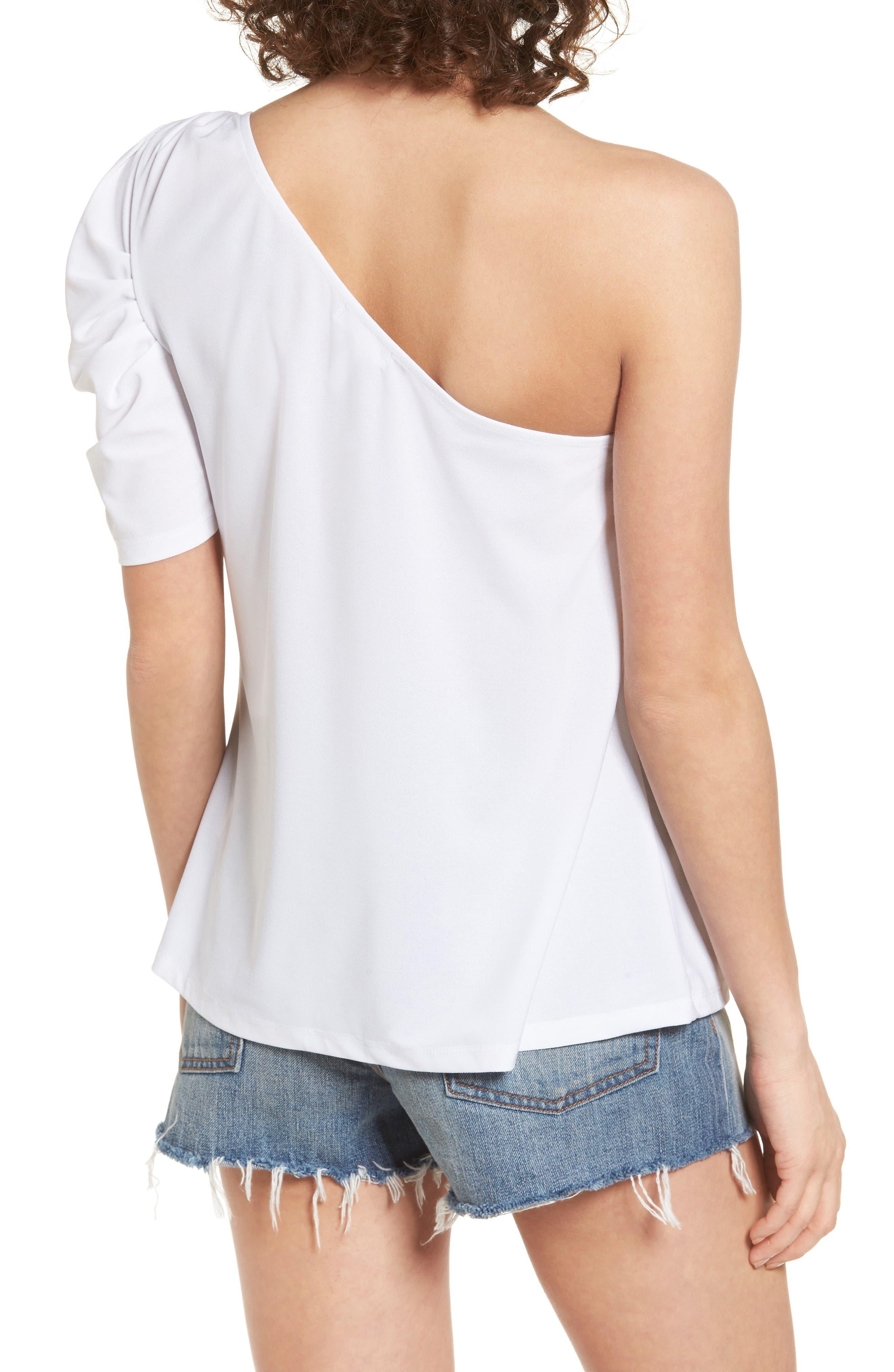 Alternate Image 2  - Leith One-Shoulder Top