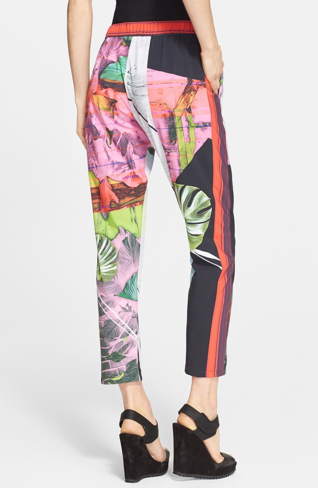 Alternate Image 2  - Clover Canyon 'Painted Garden' Print Pants