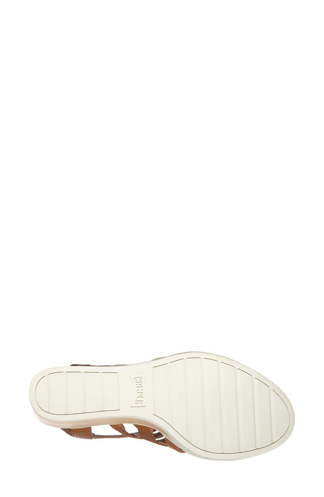 Alternate Image 4  - Camper 'Limi' Strappy Wedge Sandal (Women)