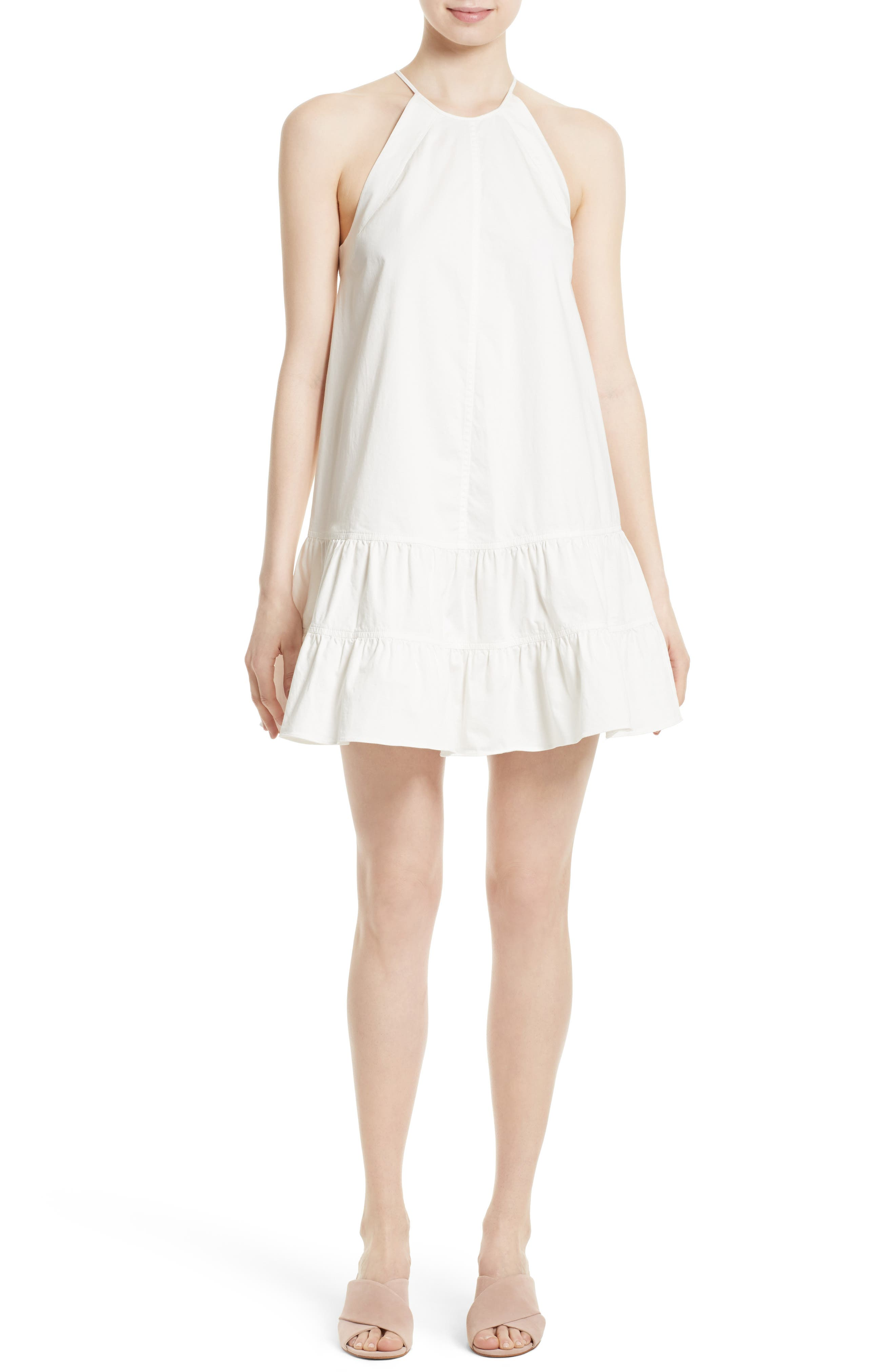 Rebecca Taylor Stretch Cotton Shift Dress