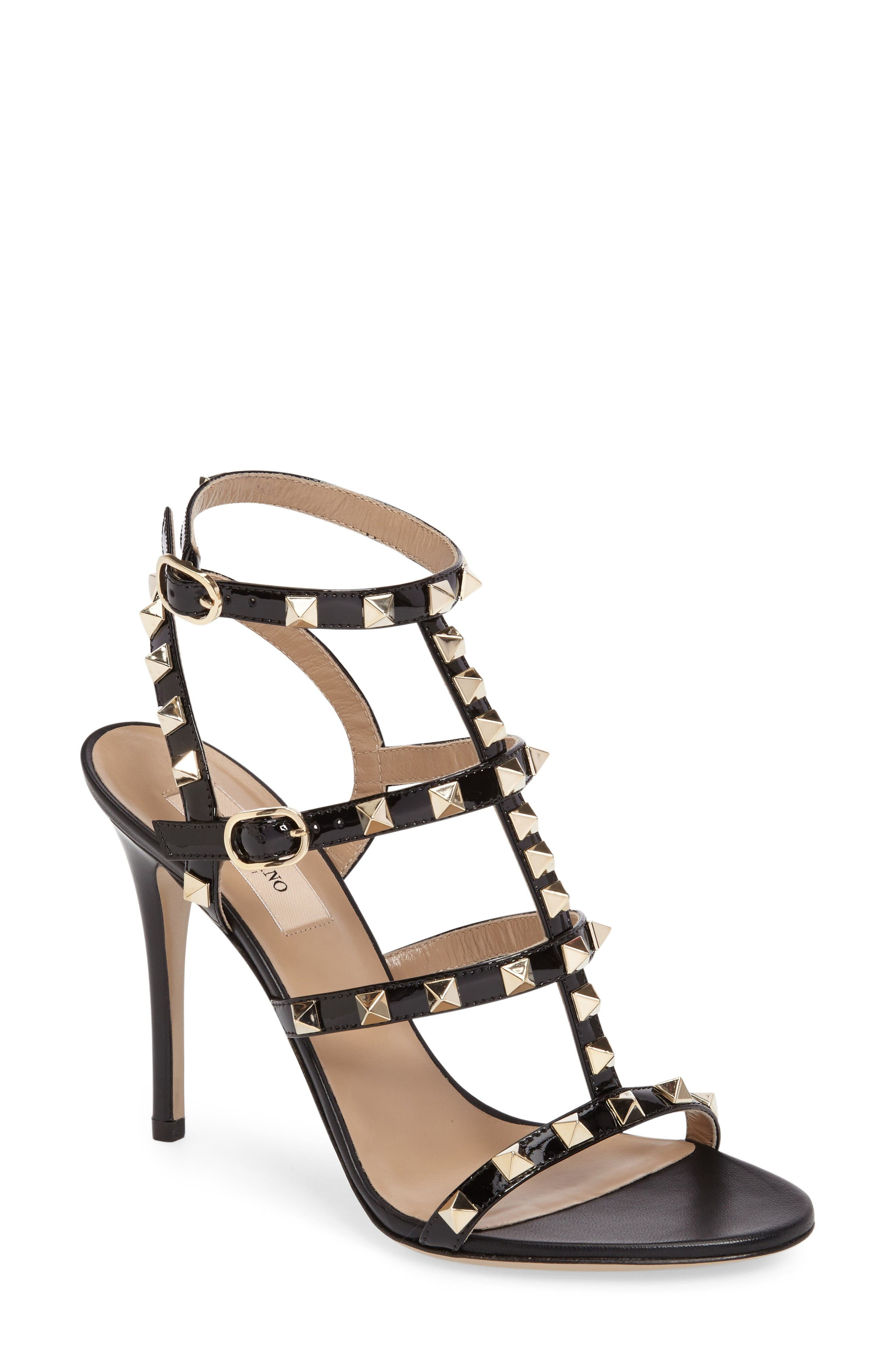 Valentino Rockstud Sandal (Women)