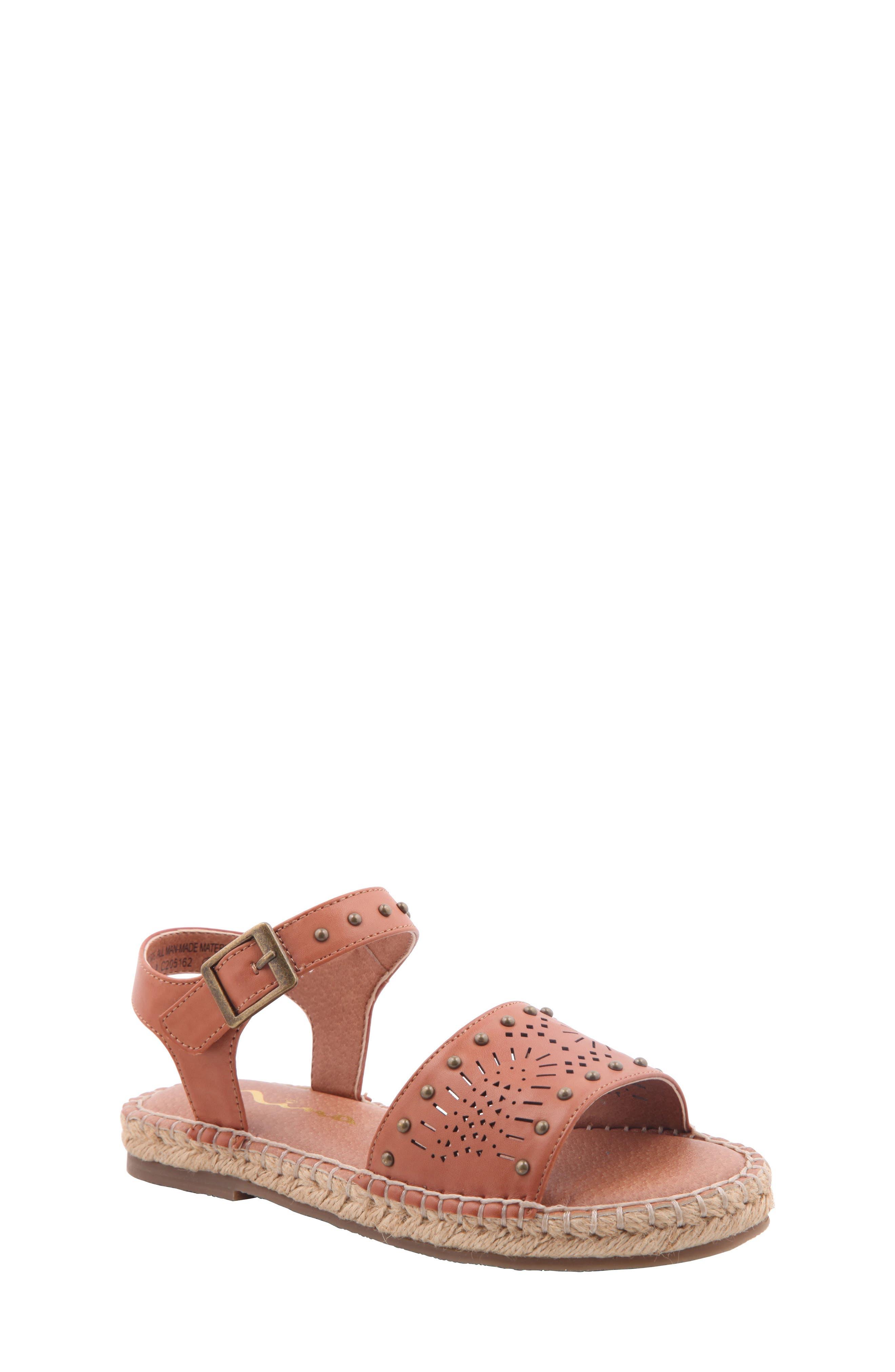 Nina Badger Studded Sandal (Little Kid & Big Kid)