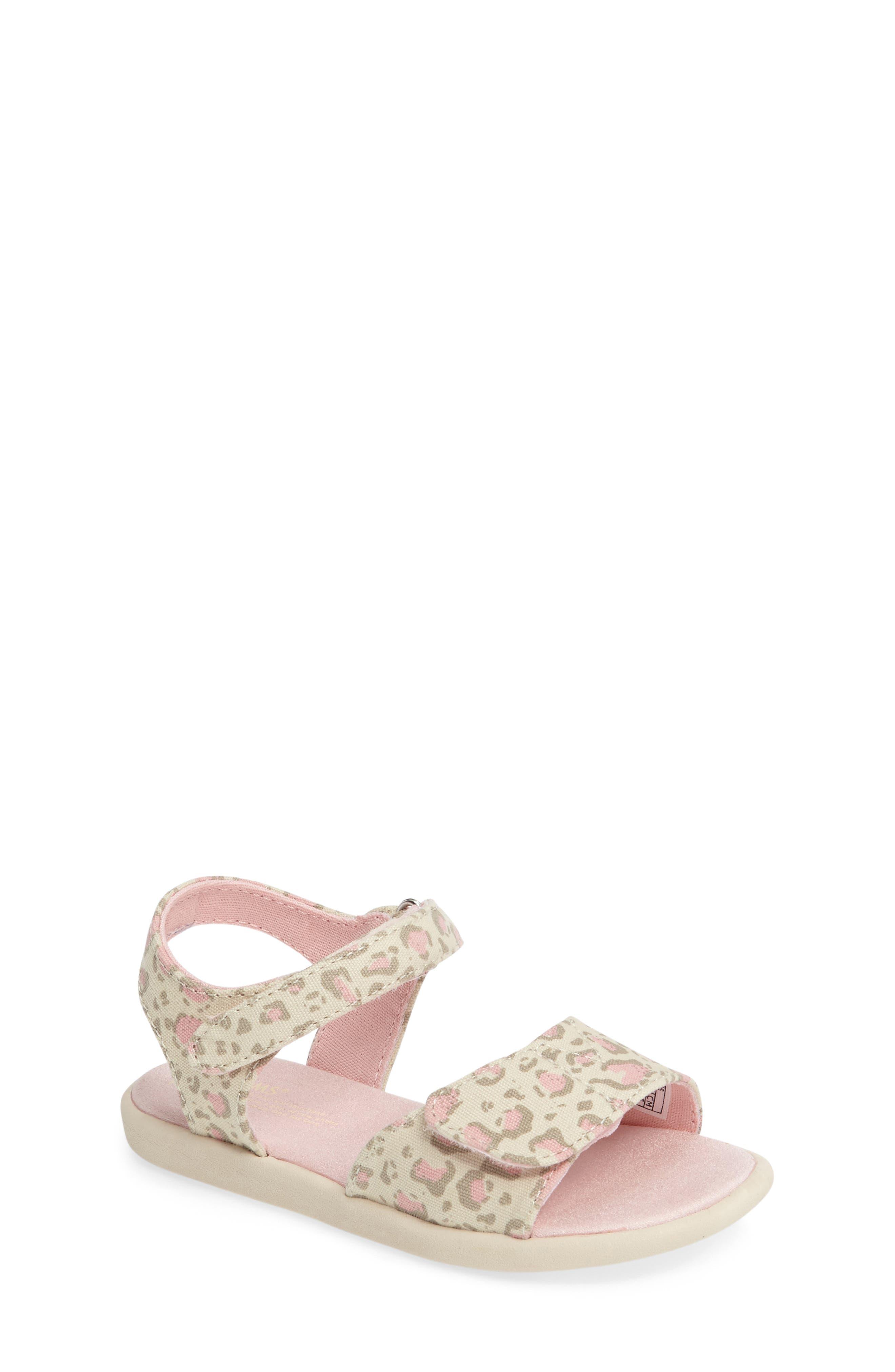 TOMS 'Strappy' Sandal (Baby, Walker & Toddler)