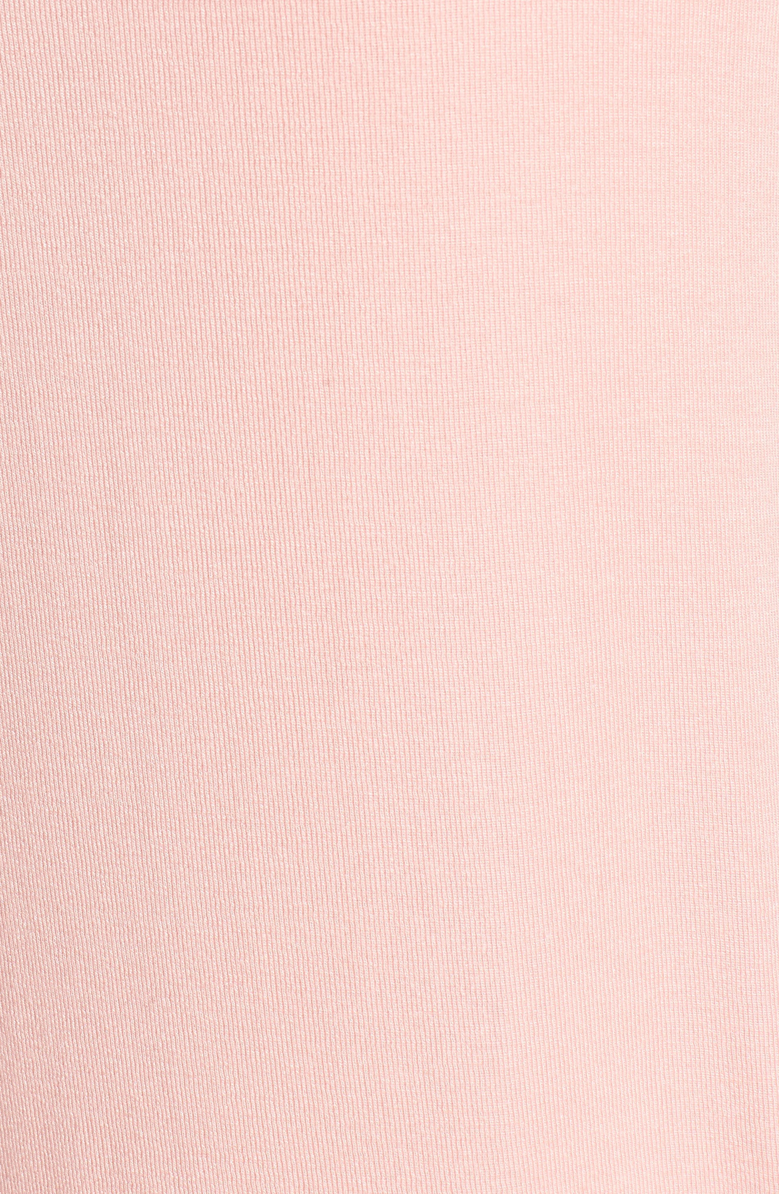 Alternate Image 5  - Bobeau High/Low Jersey Cardigan (Regular & Petite)