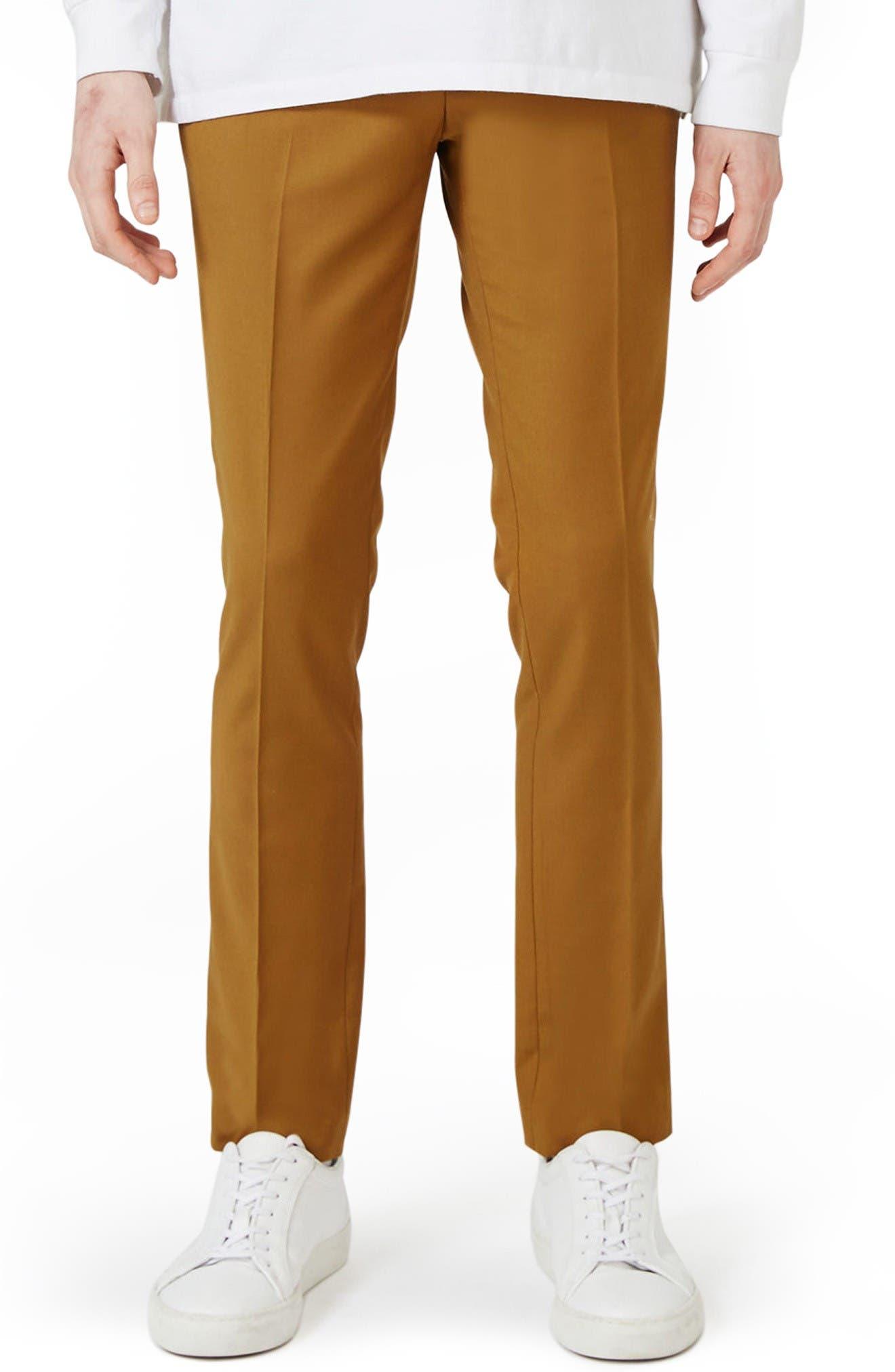 Topman Ultra Skinny Fit Suit Trousers