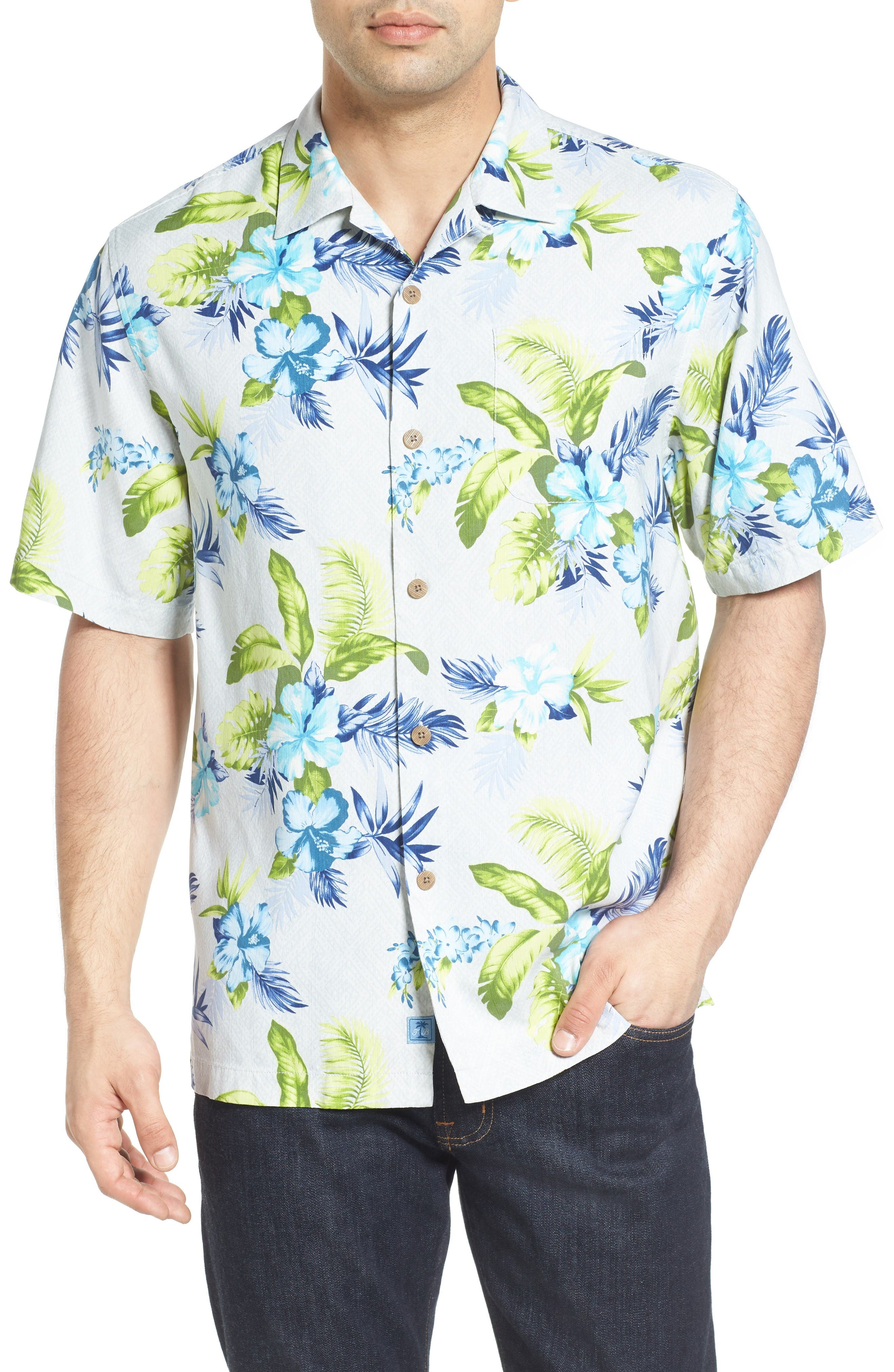 Tommy Bahama Trikale Keys Silk Camp Shirt