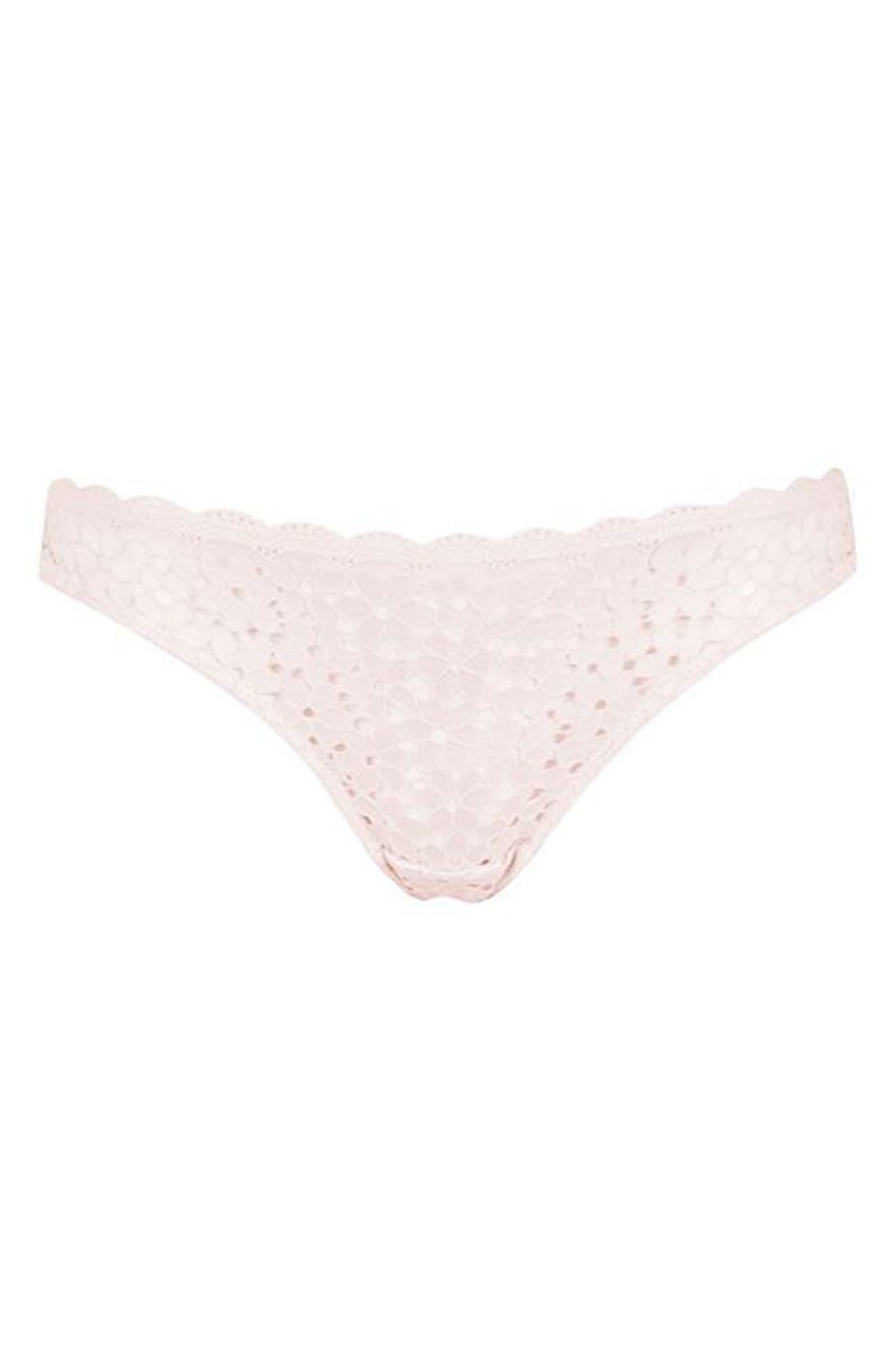 Alternate Image 3  - Topshop Summer Haze Lace Thong