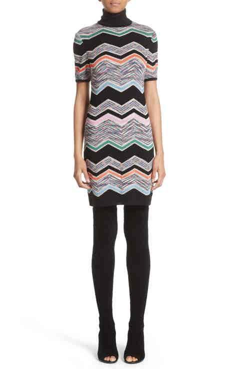 Missoni Zigzag Jacquard Knit Dress