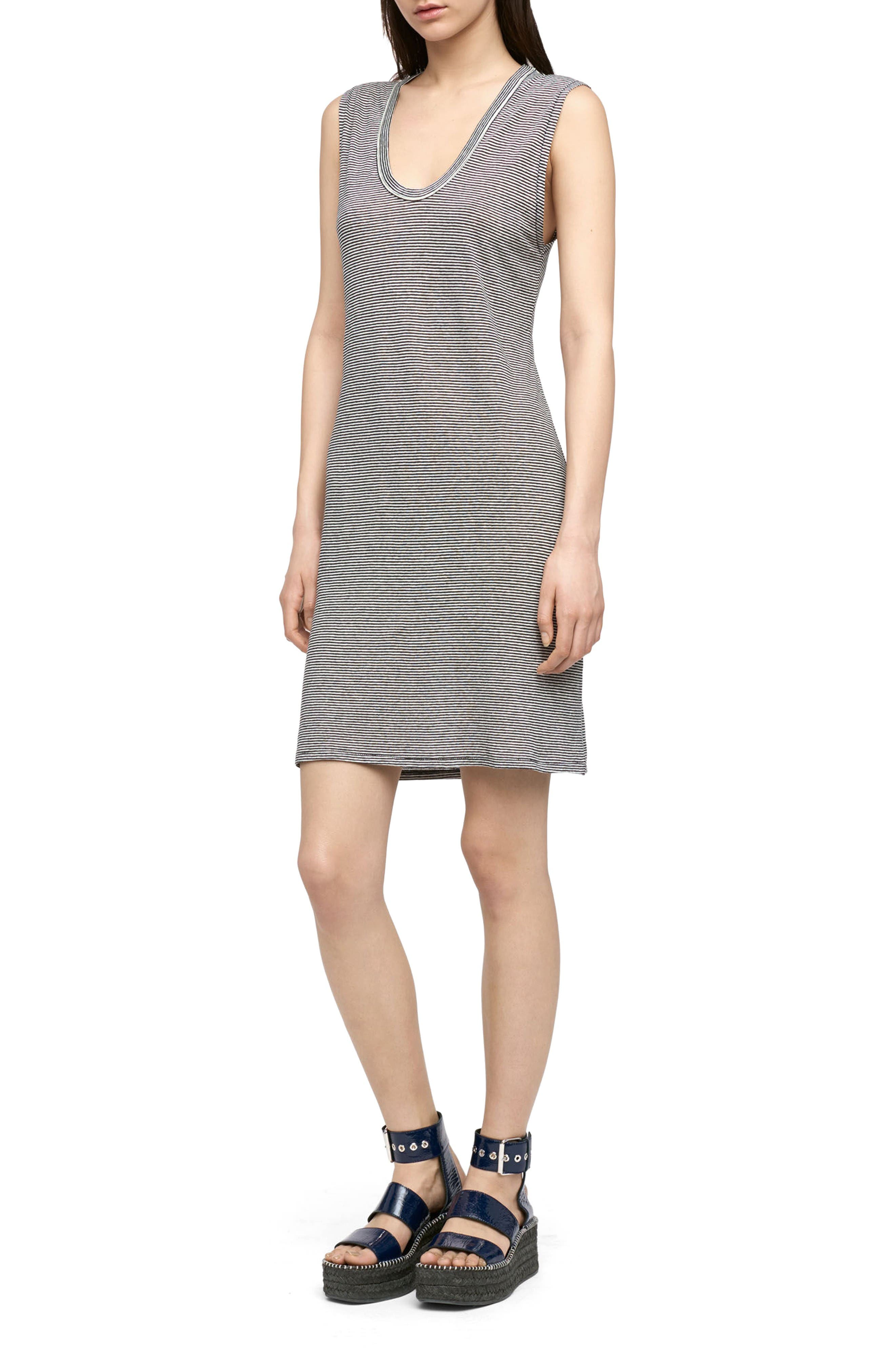 rag & bone/JEAN Ryder Linen Blend Dress