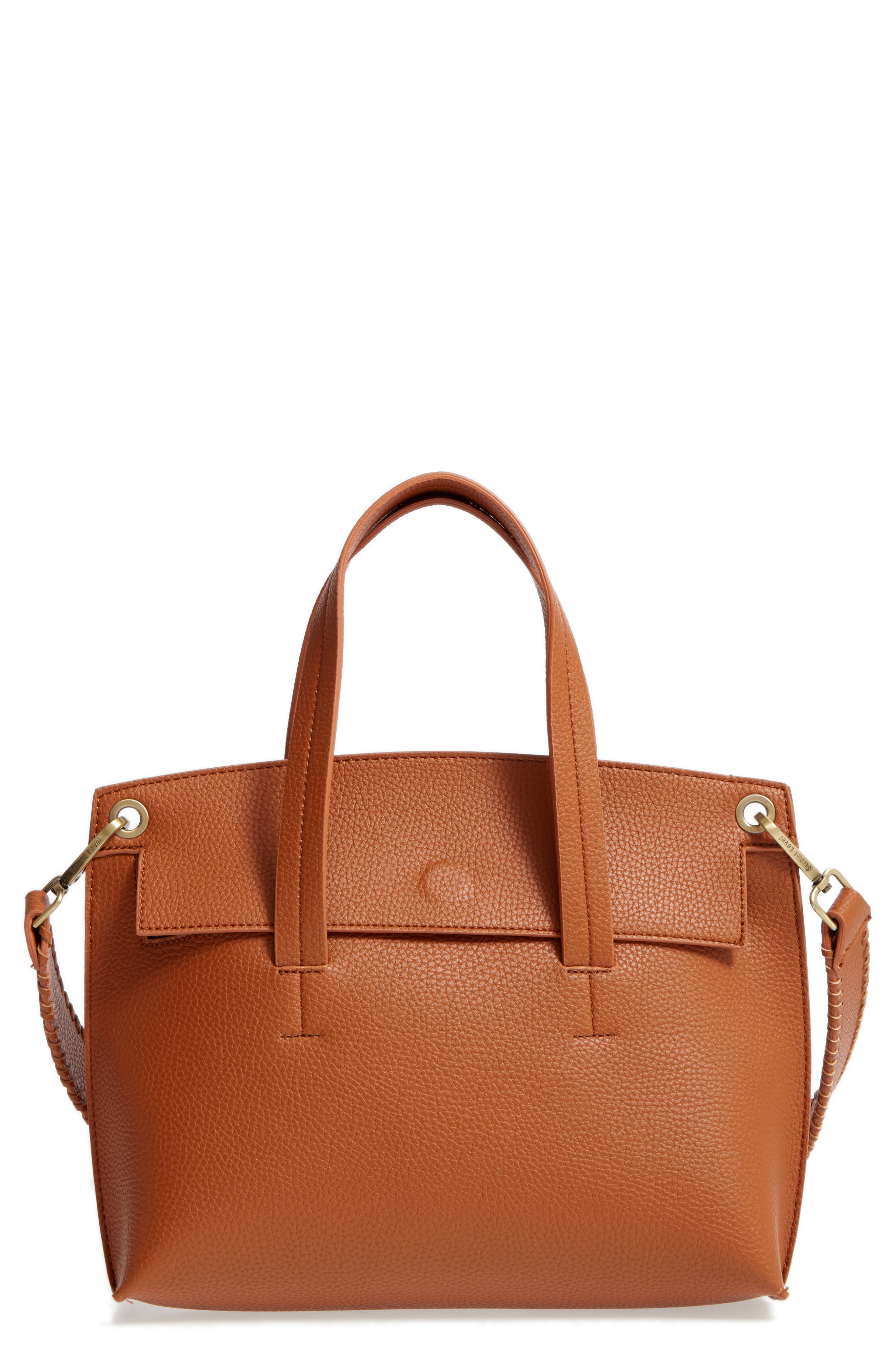 Main Image - Street Level Faux Leather Crossbody Bag