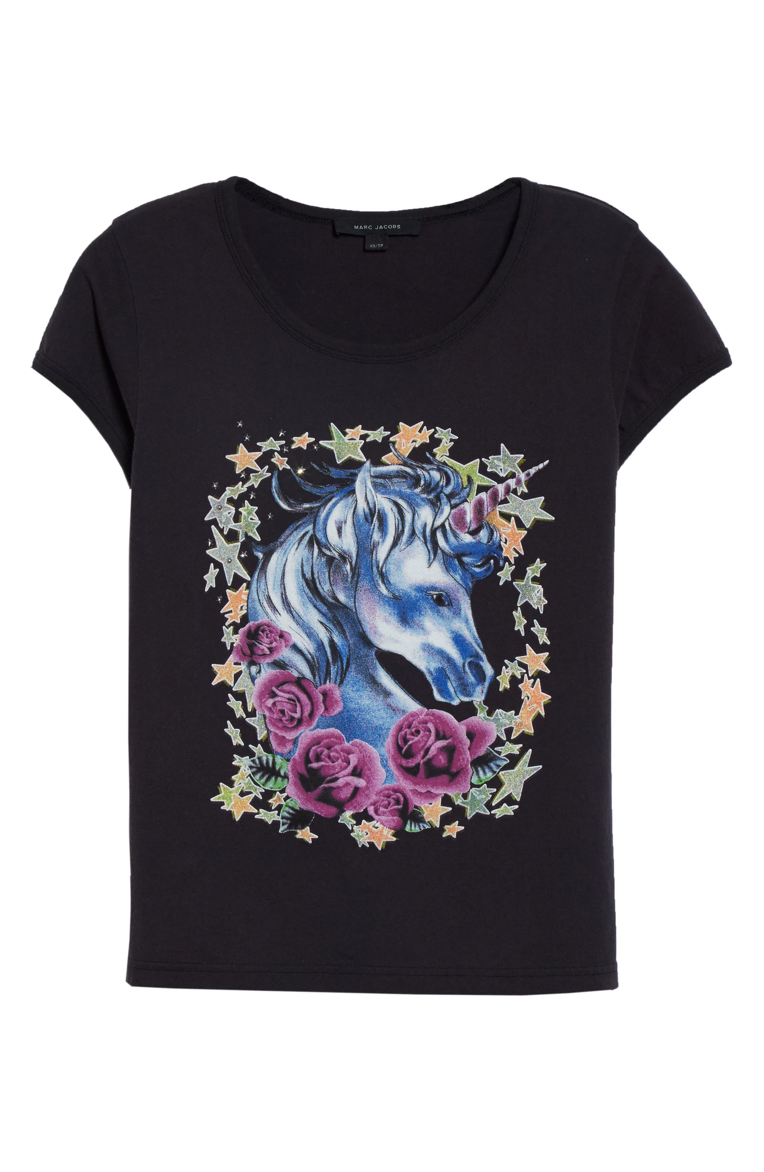 Alternate Image 4  - MARC JACOBS Unicorn Print Tee