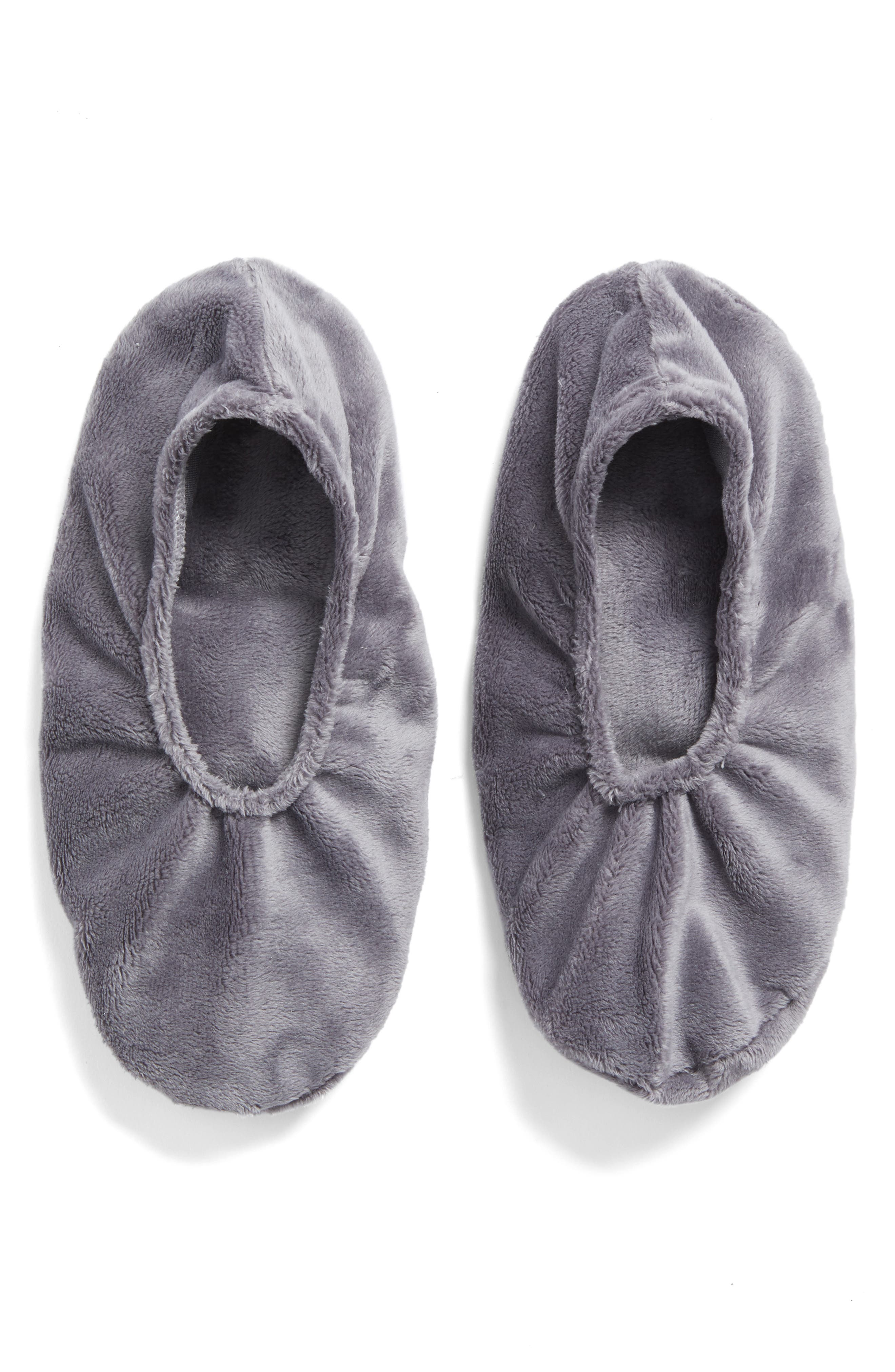 Alternate Image 1 Selected - Sonoma Lavender Solid Charcoal Grey Footies (Nordstrom Exclusive) ($38 Value)