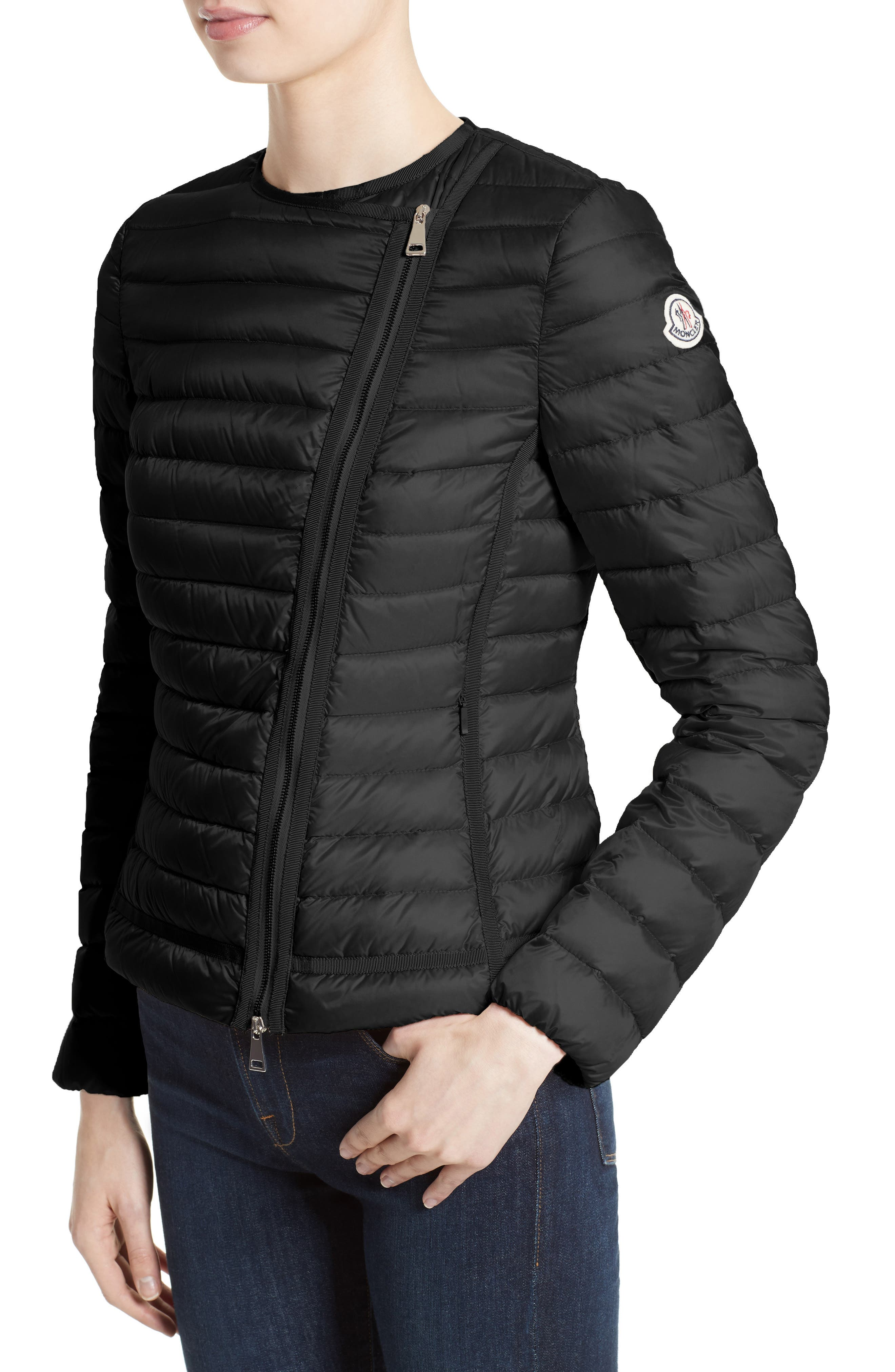 Alternate Image 6  - Moncler Amy Quilted Down Jacket