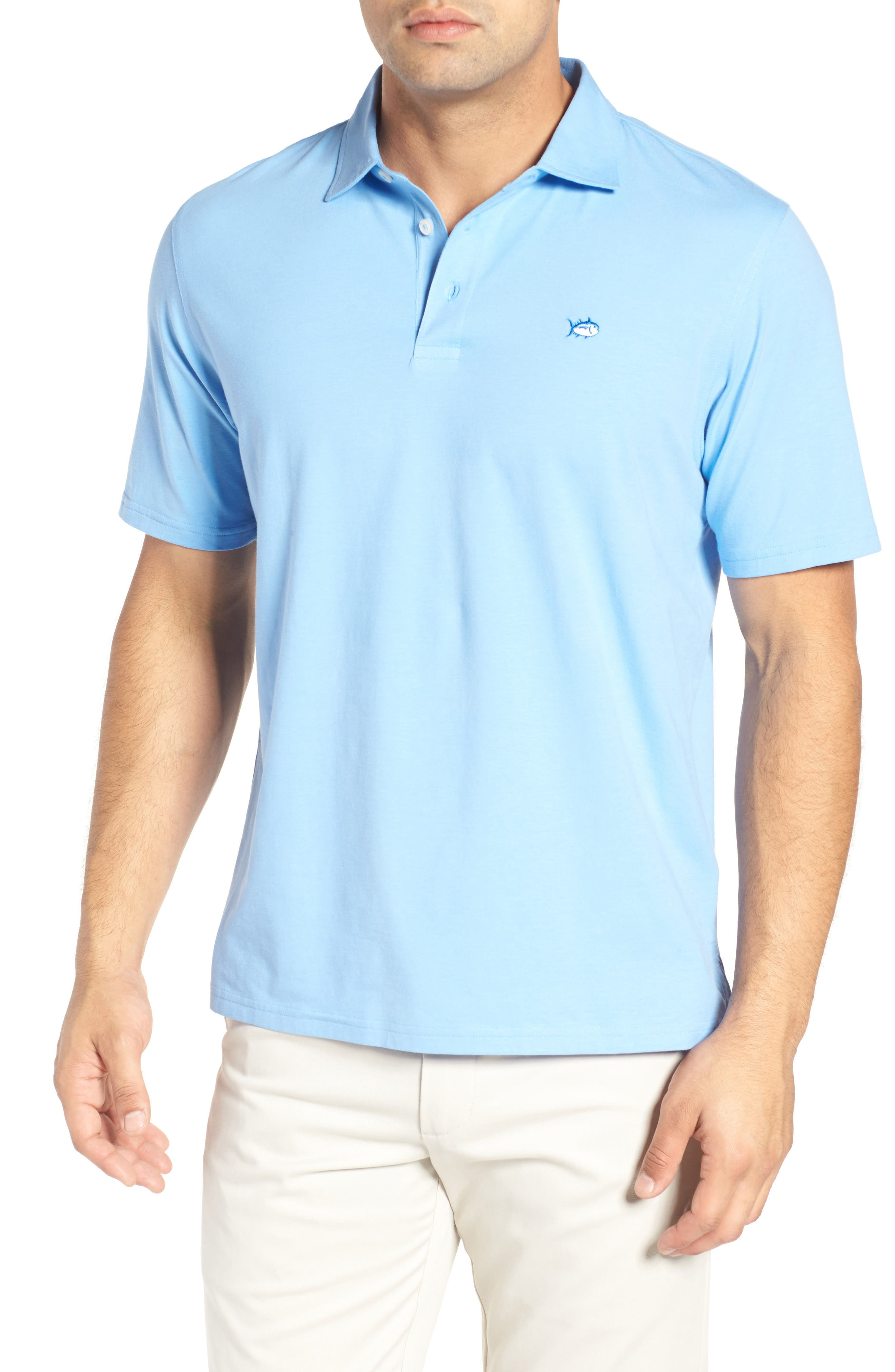 Southern Tide Channel Marker Jersey Polo
