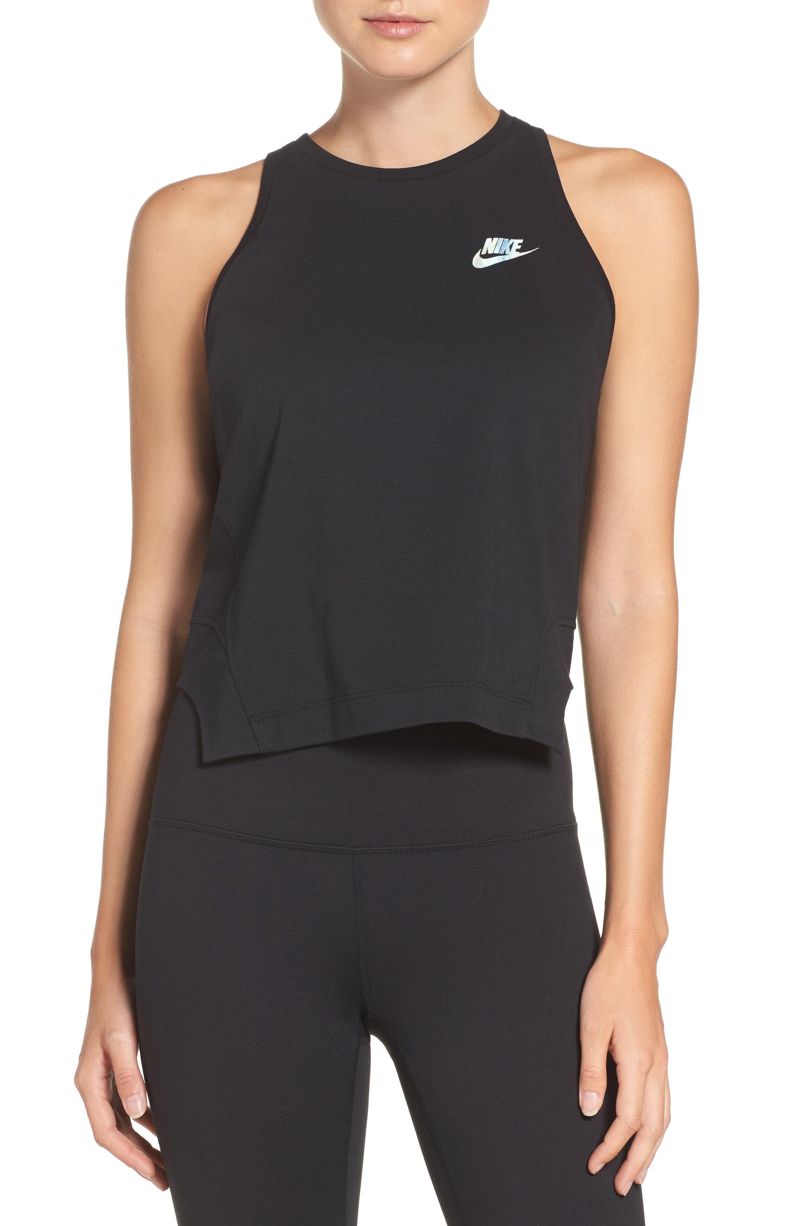 Nike Sportswear Hologram Crop Tank