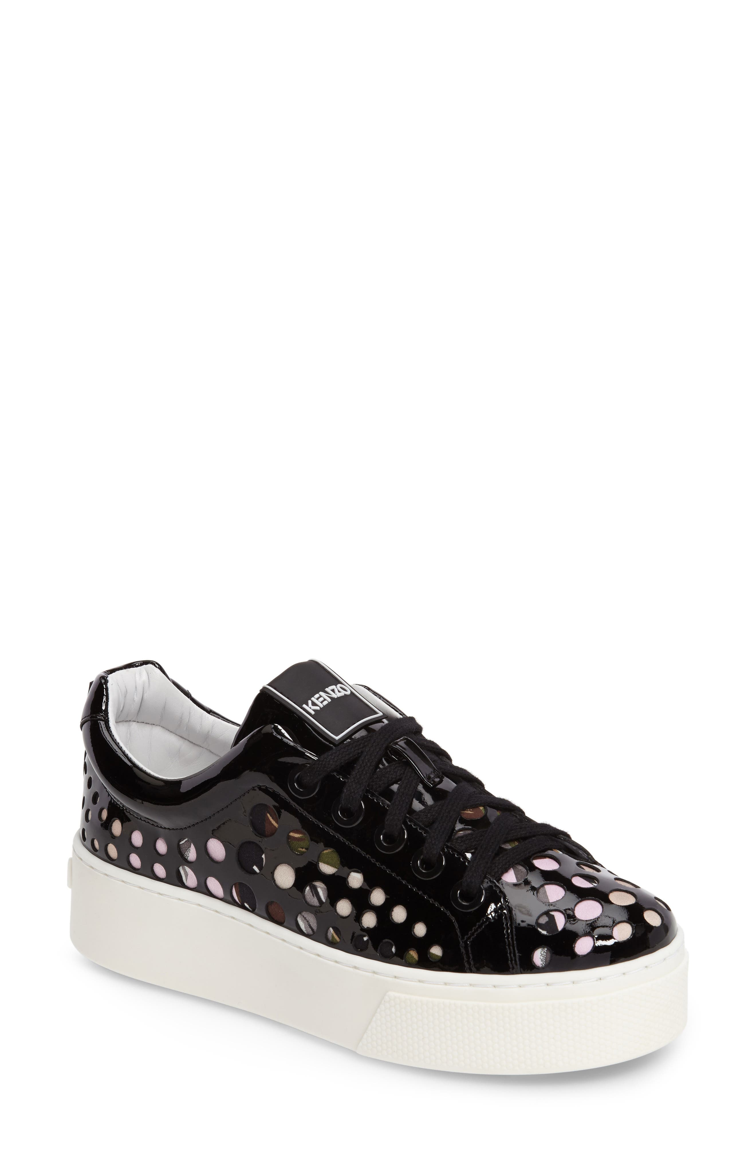 KENZO K-Lace Platform Sneaker (Women)