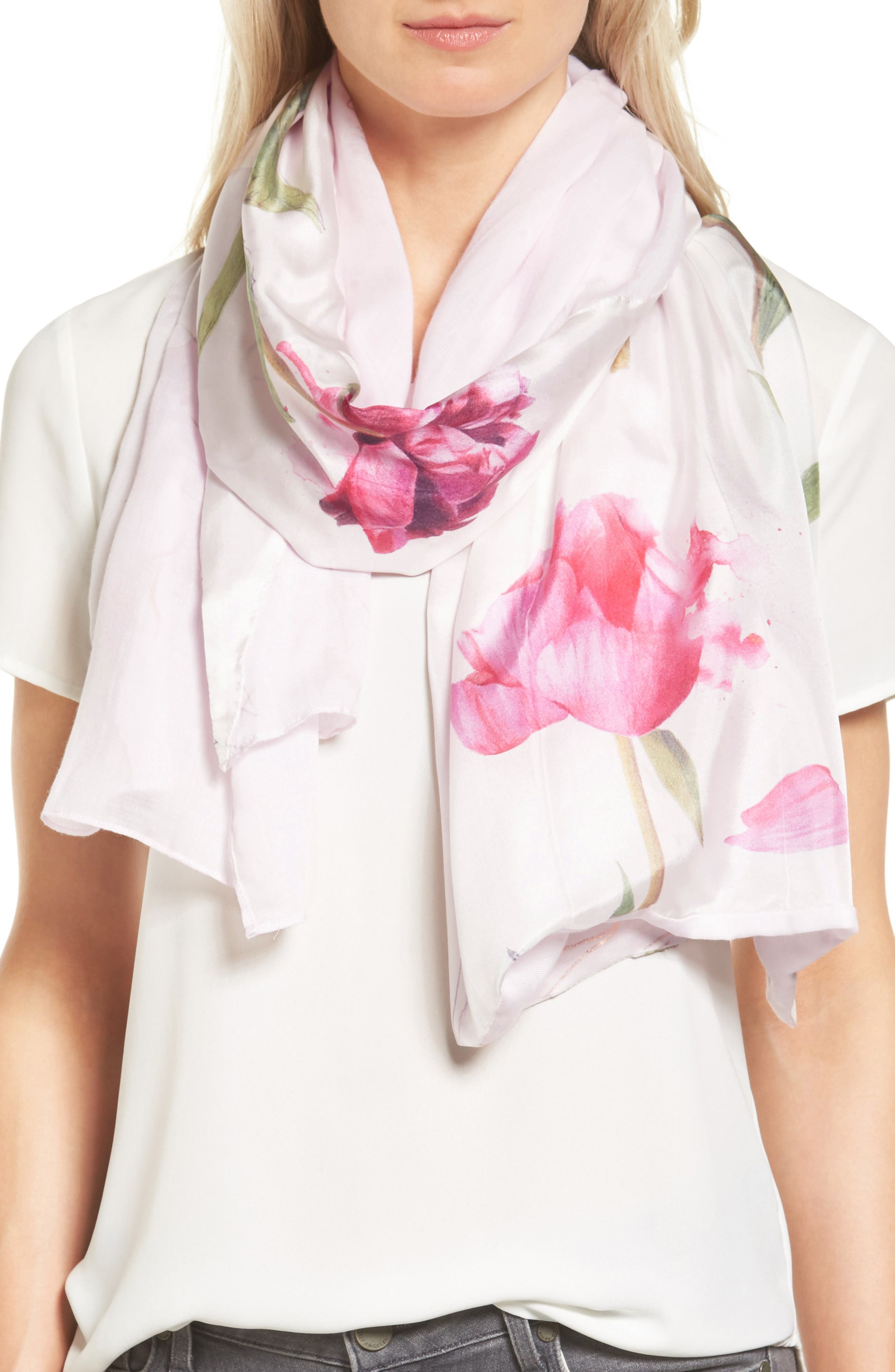 Ted Baker London Sketchbook Split Scarf