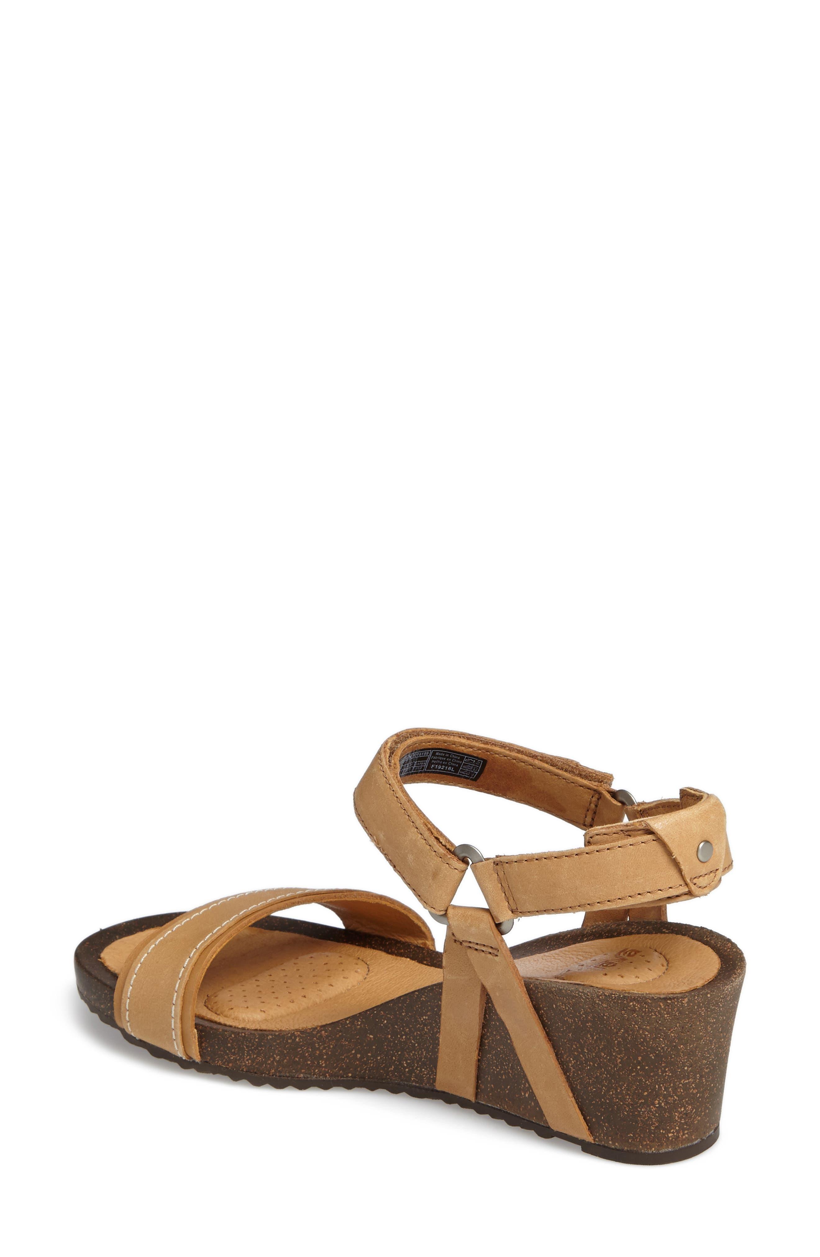 Alternate Image 2  - Tevo Ysidro Stitch Wedge Sandal (Women)