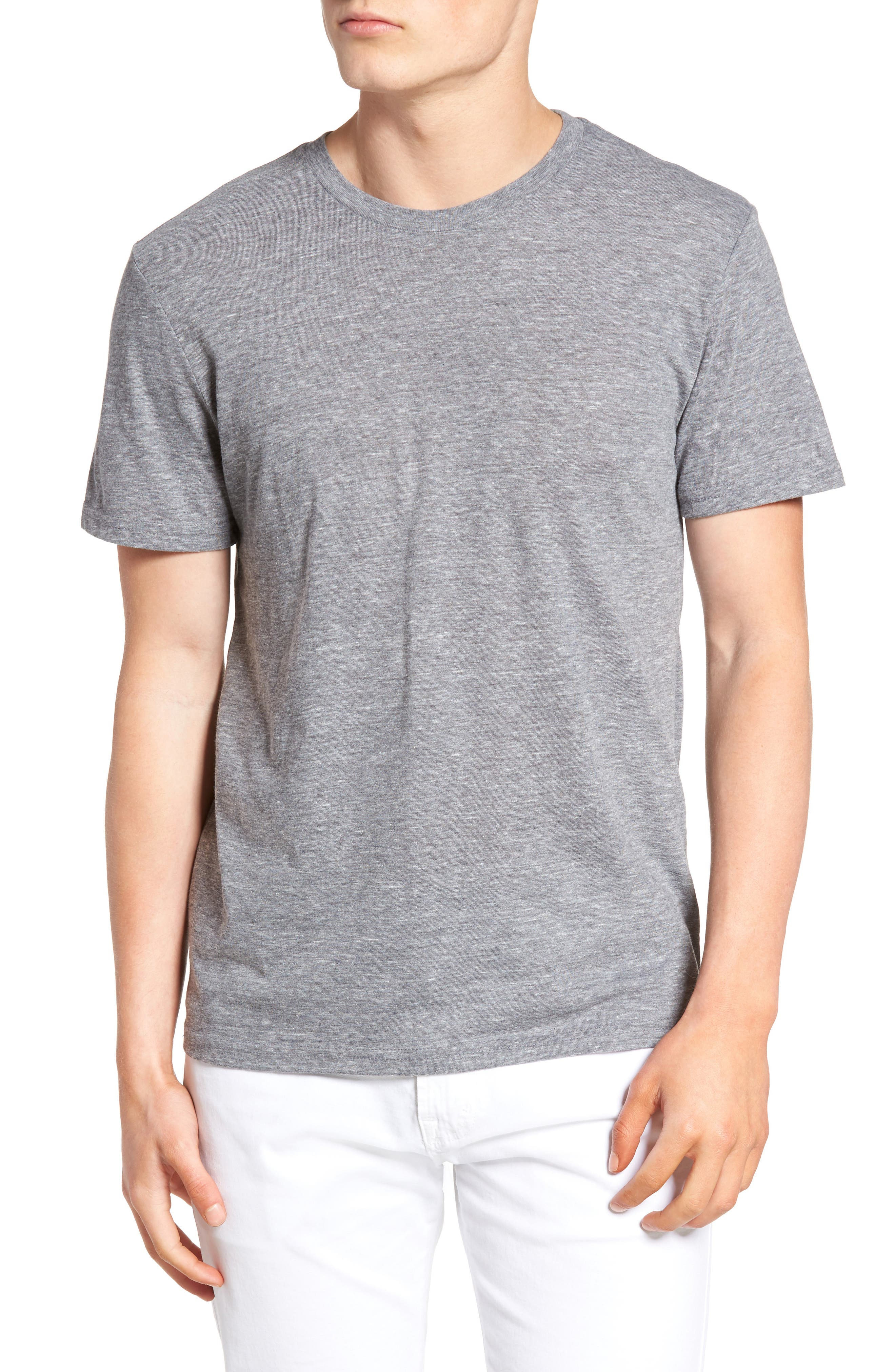 Main Image - The Rail Slim Fit Crewneck T-Shirt